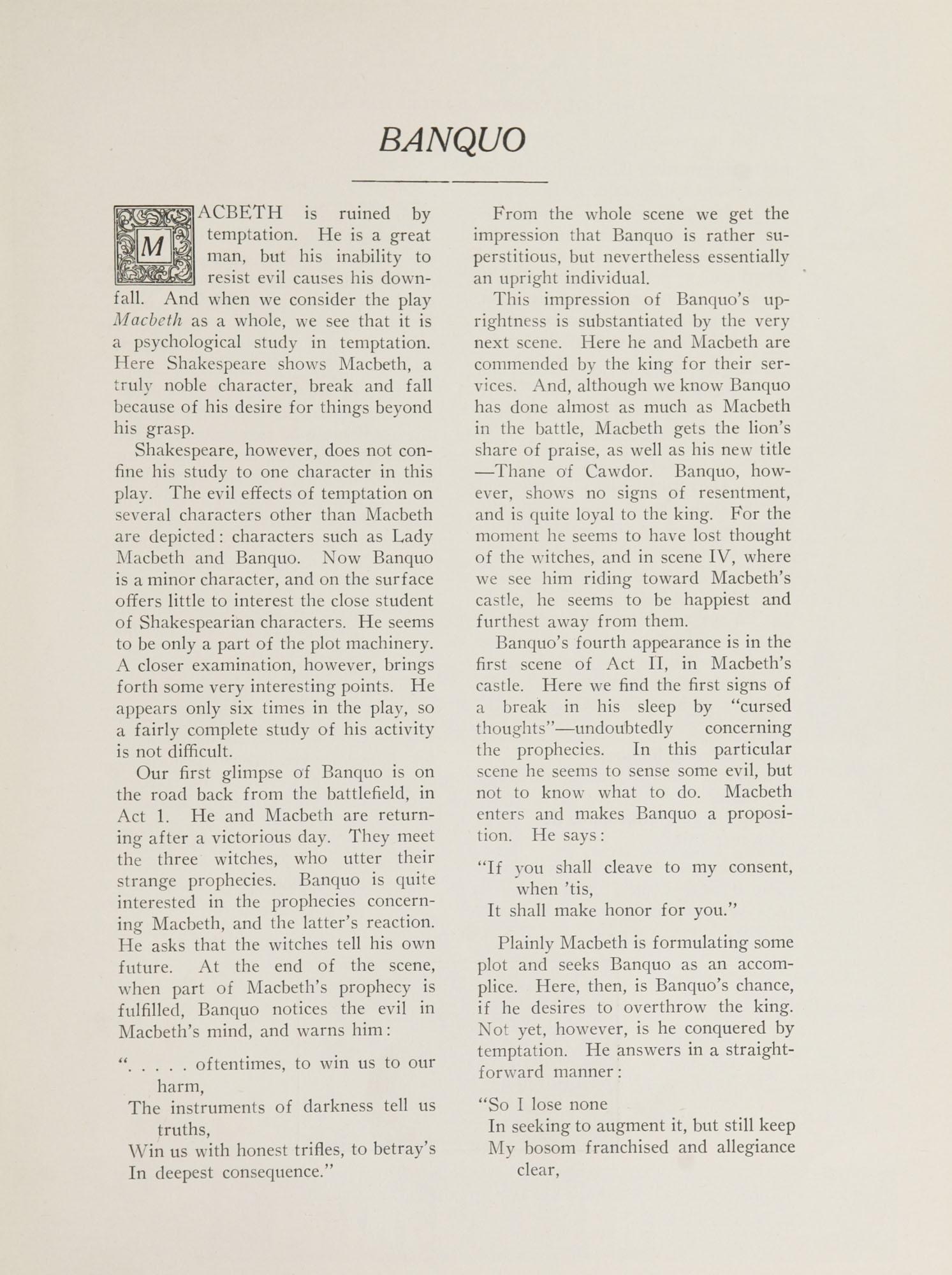 College of Charleston Magazine, 1937-1938, Vol. XXXXI No. 1, page 25