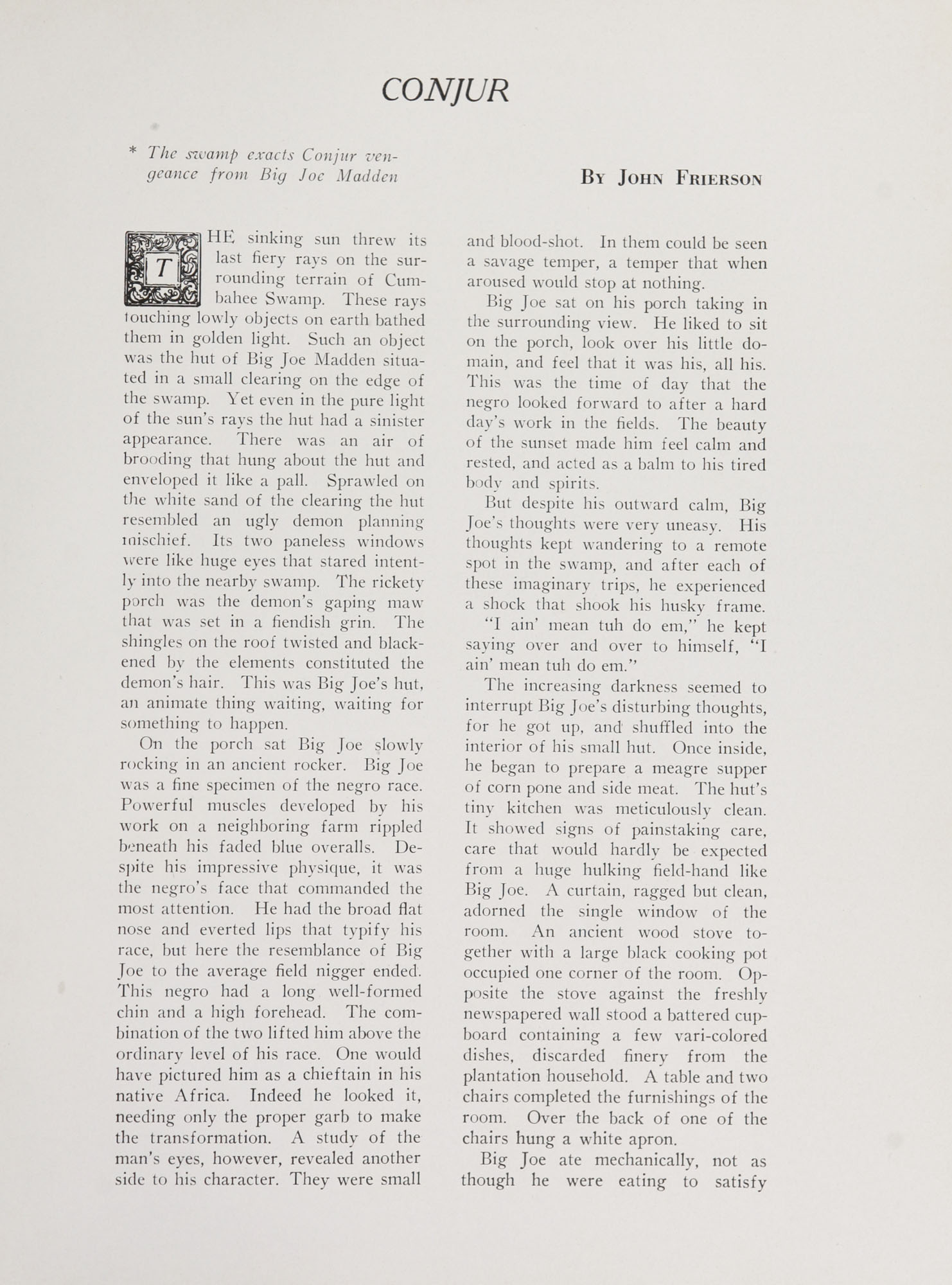 College of Charleston Magazine, 1938-1939, Vol. XXXXII No. 1, page 7