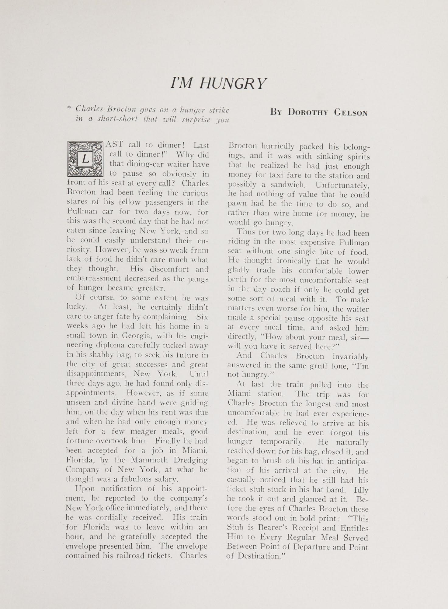 College of Charleston Magazine, 1938-1939, Vol. XXXXII No. 1, page 13