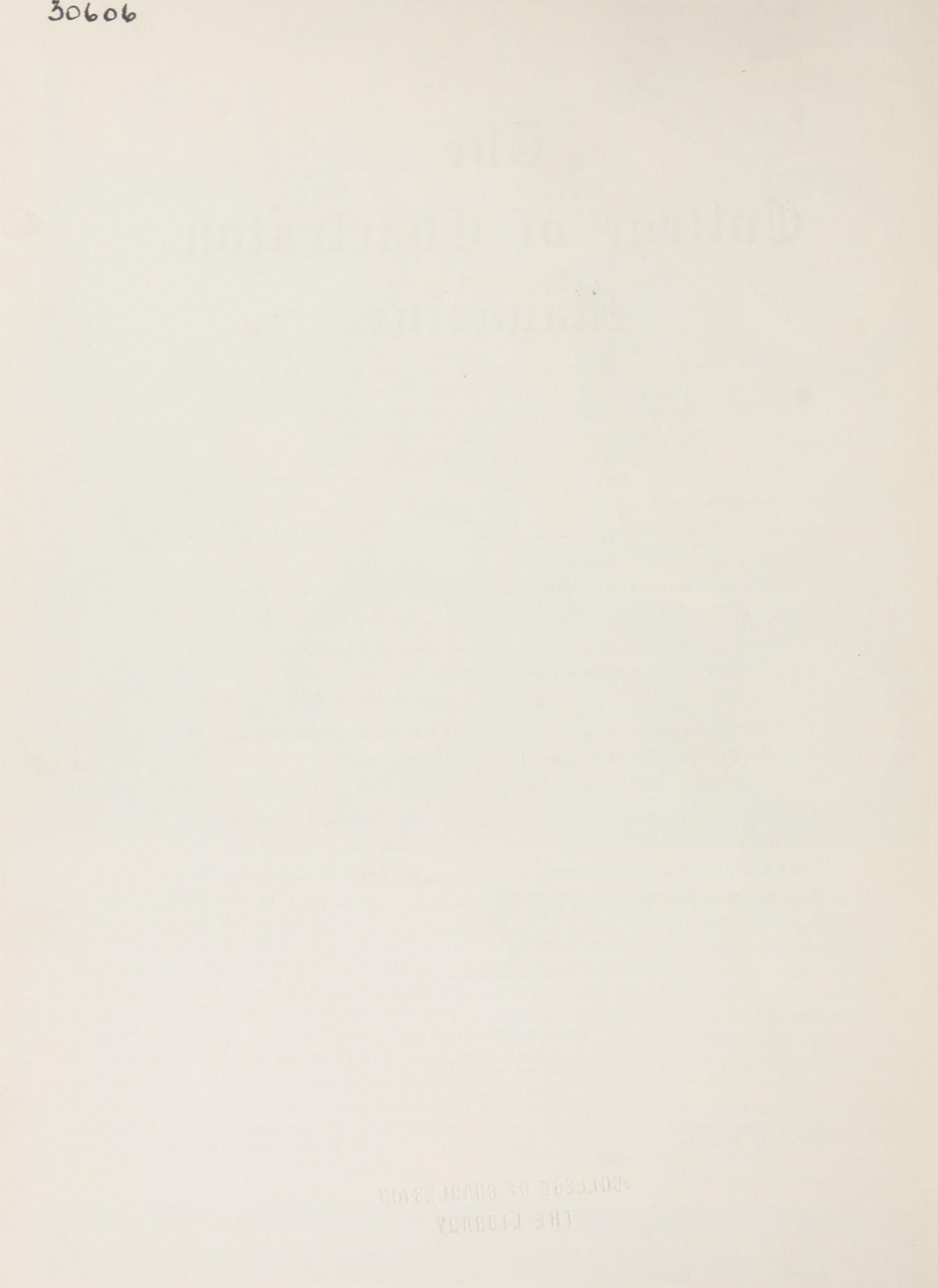 College of Charleston Magazine, 1941-1942, Vol. 45 No. 1, blank page