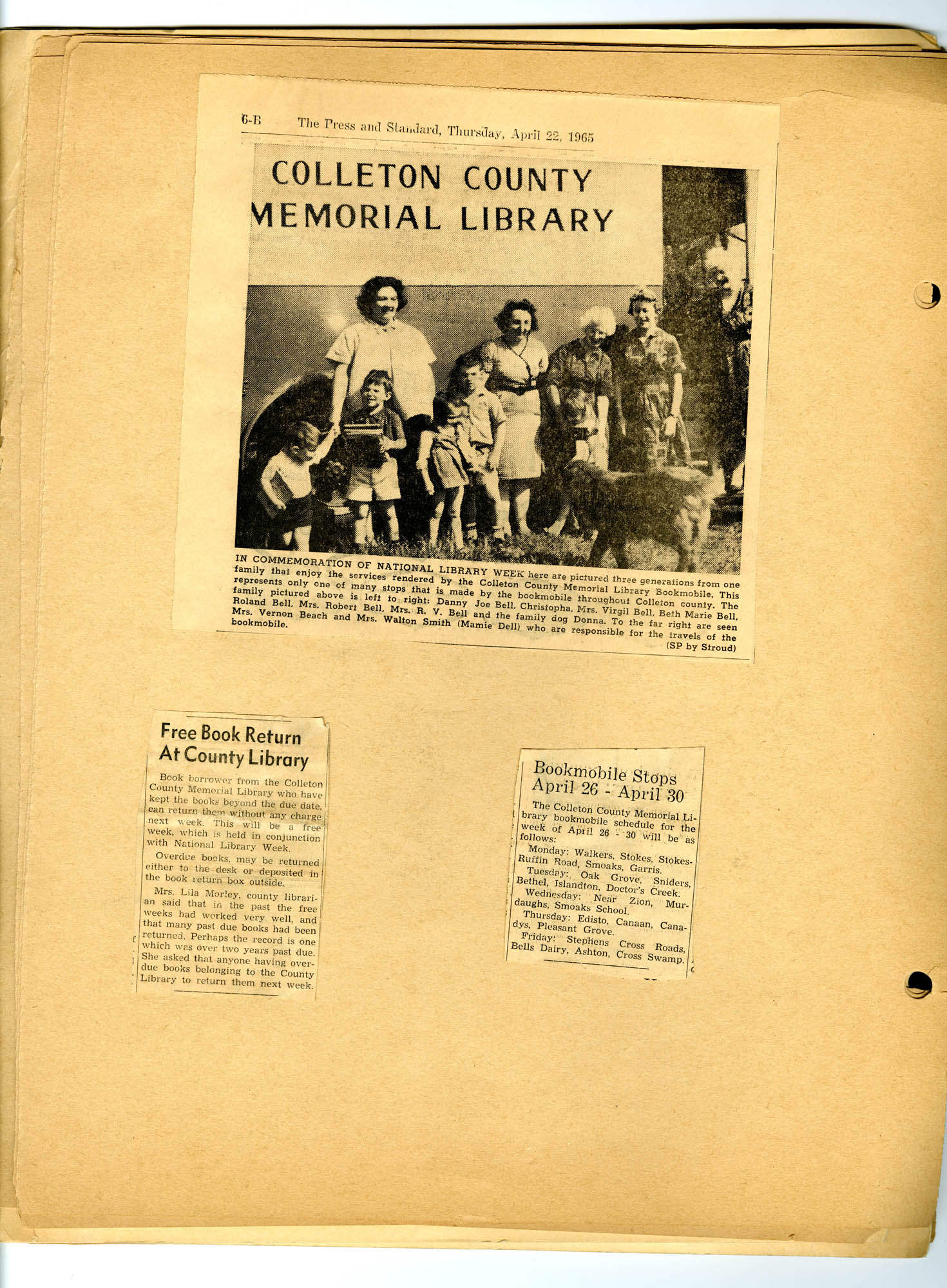 Report of National Library Week - 1965, Page 7