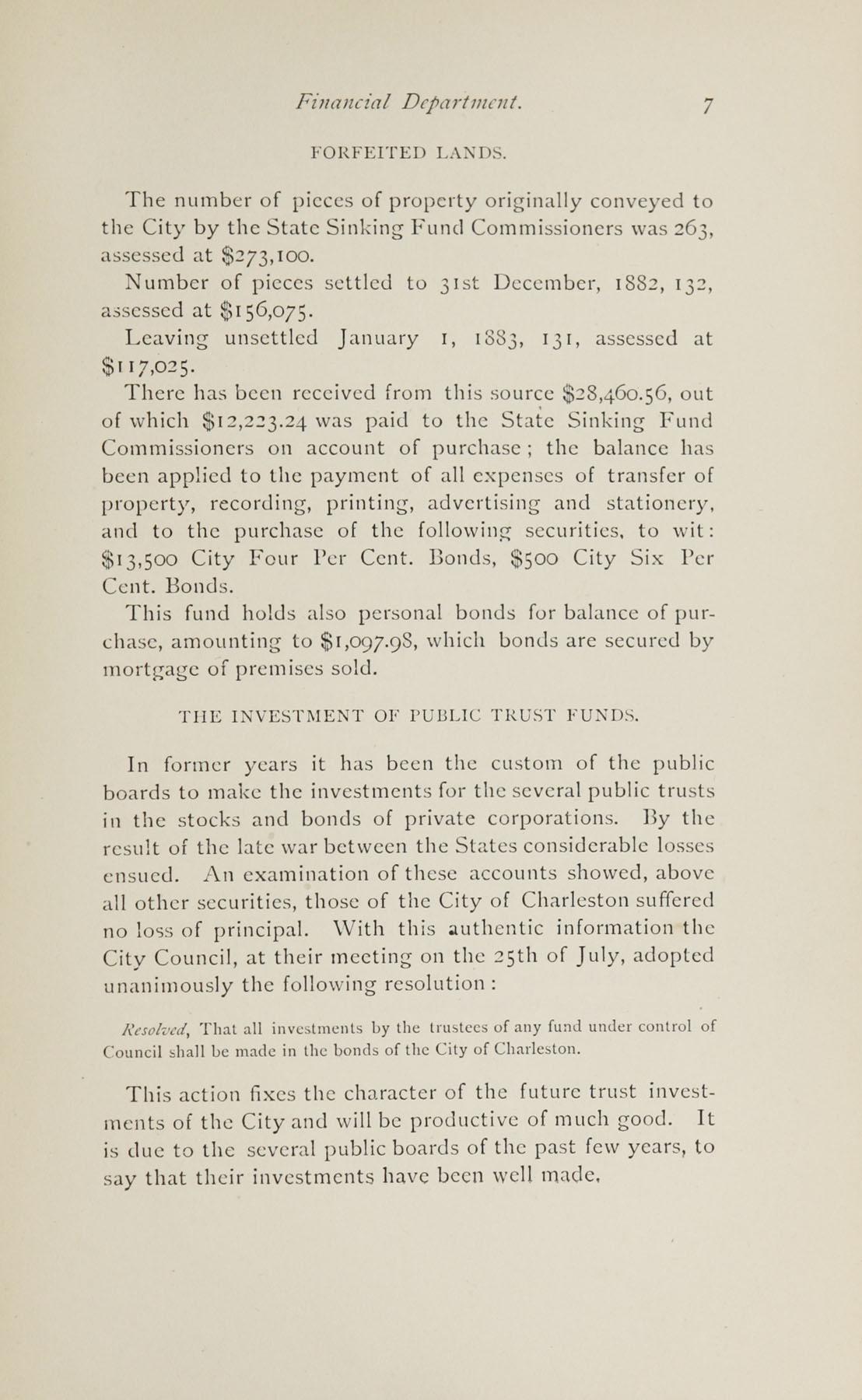 Charleston Yearbook, 1882, page 7