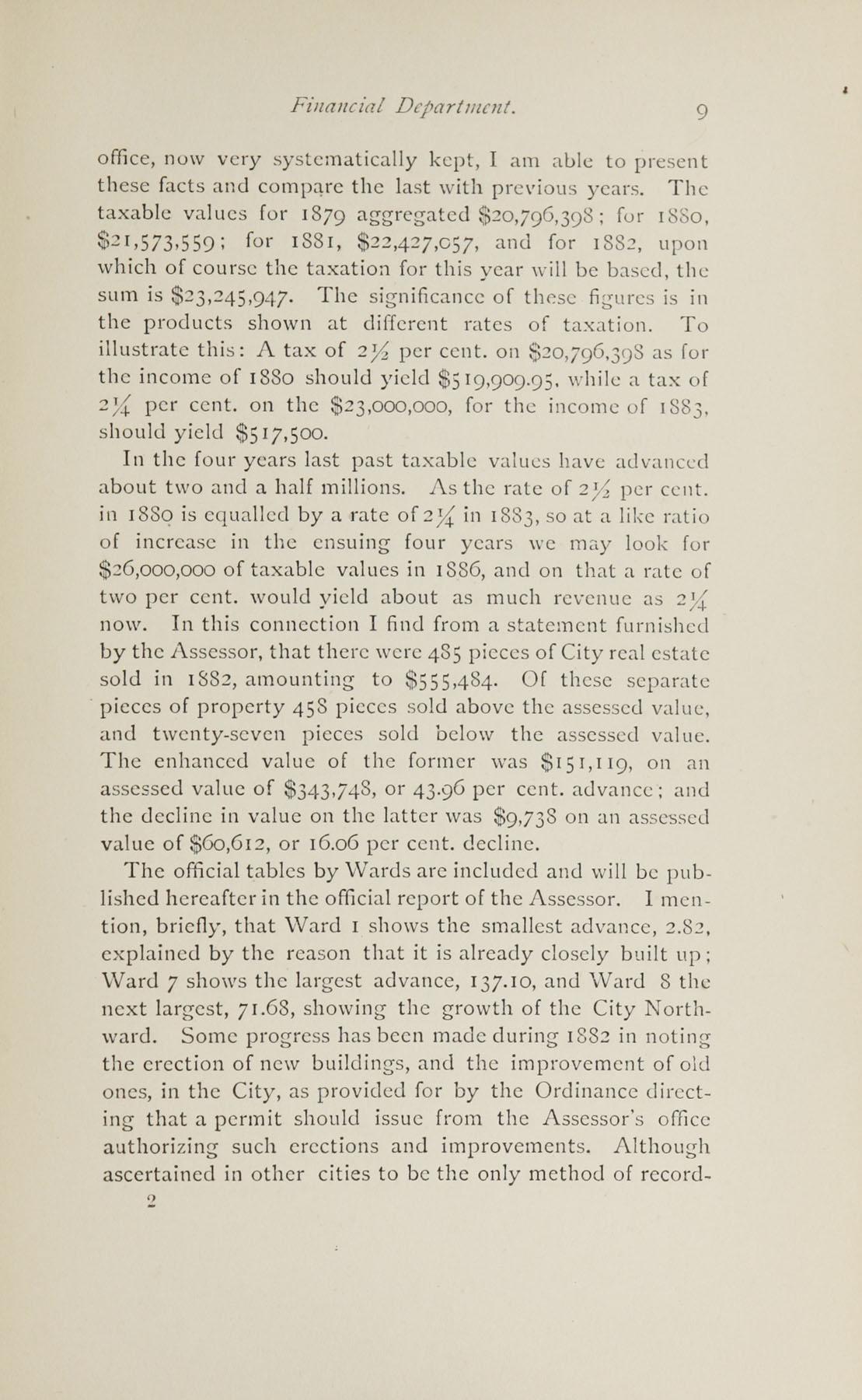 Charleston Yearbook, 1882, page 9