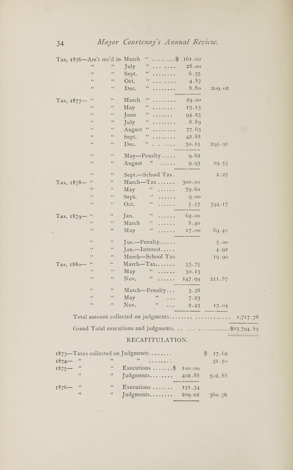 Charleston Yearbook, 1882, page 34