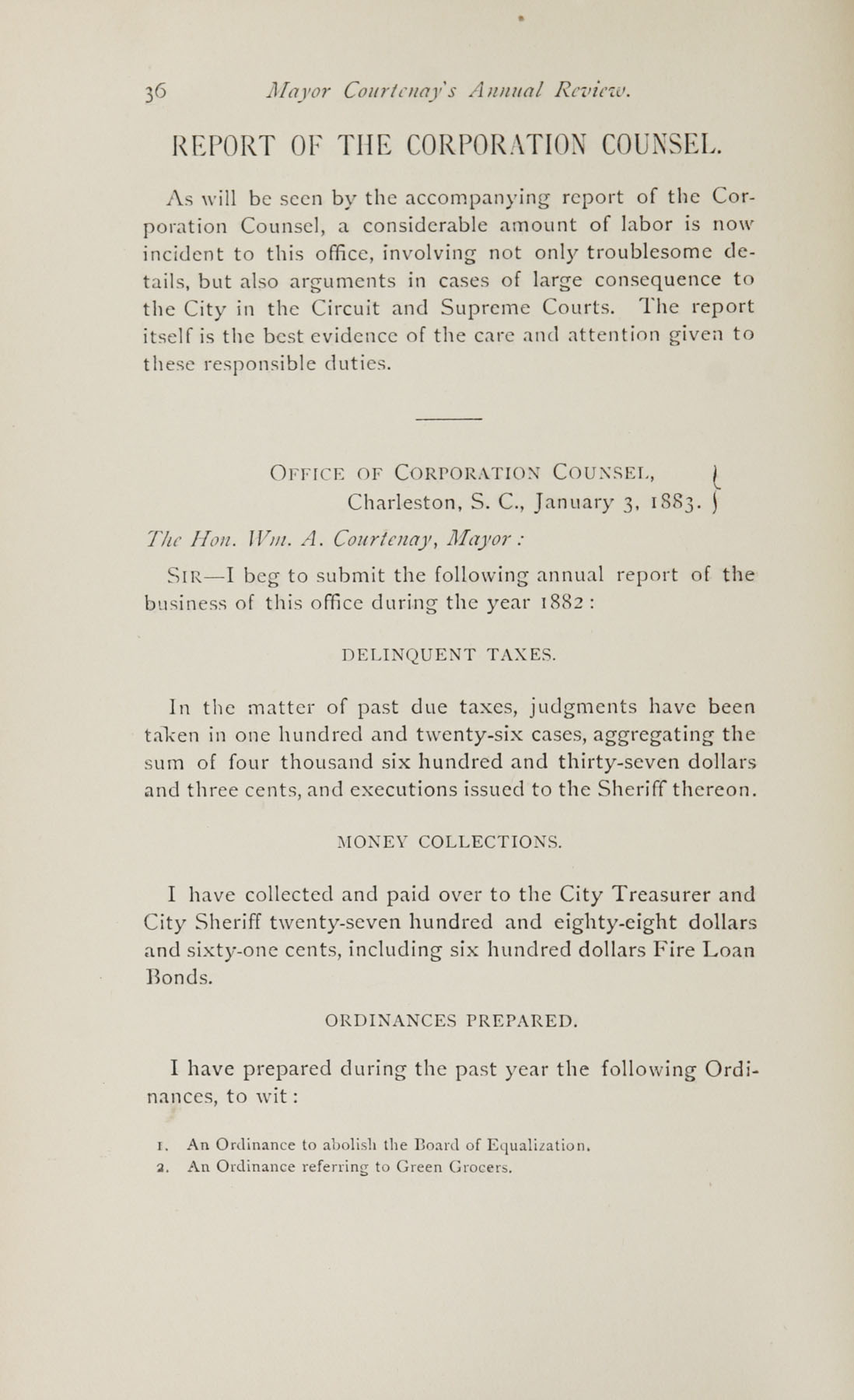 Charleston Yearbook, 1882, page 36
