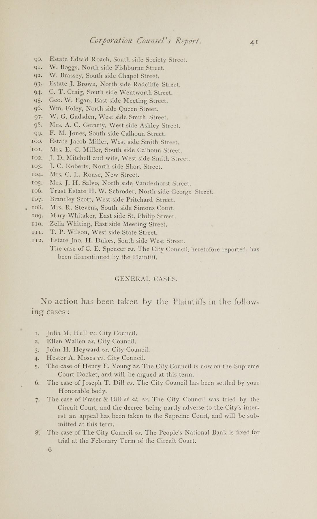 Charleston Yearbook, 1882, page 41