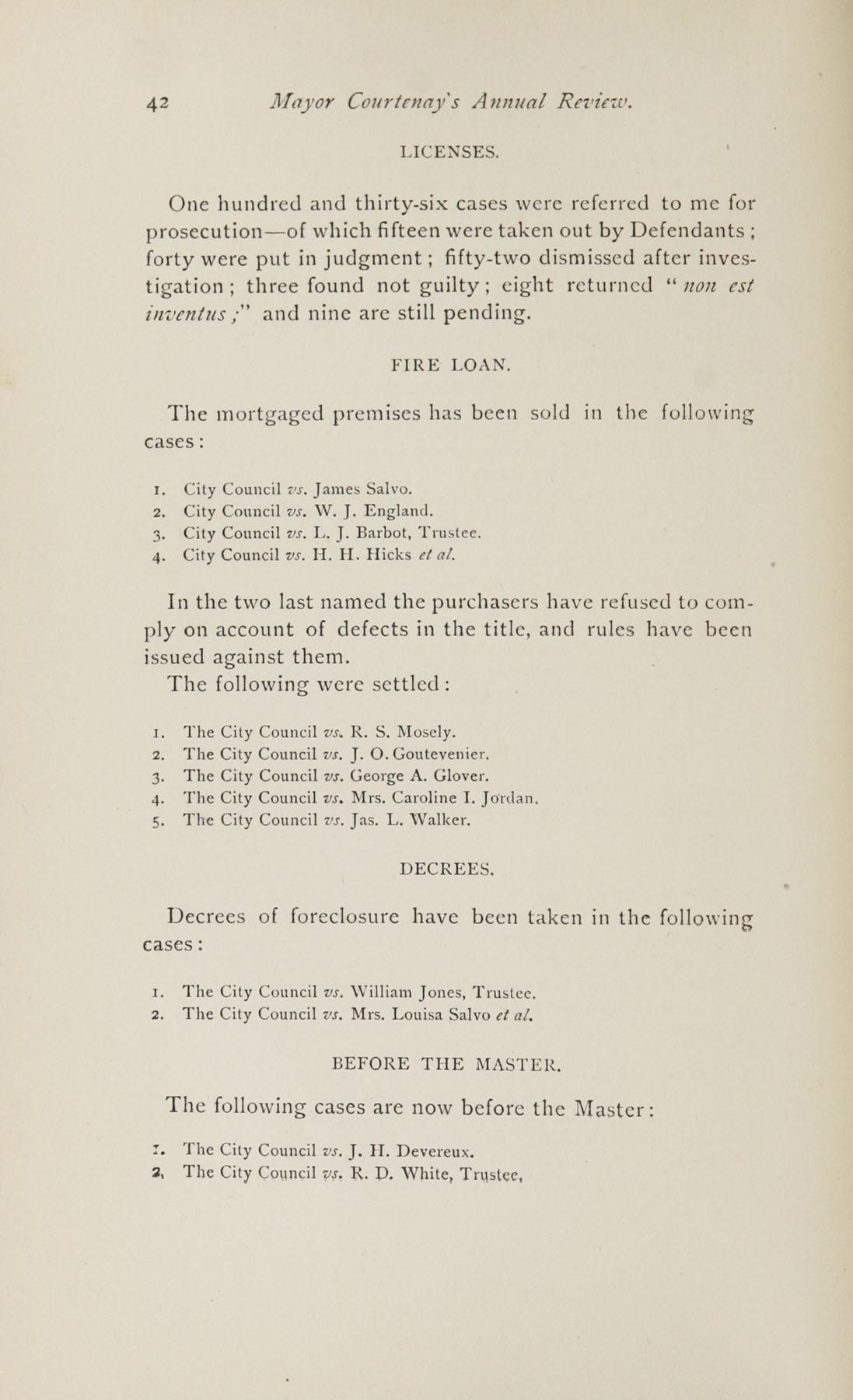 Charleston Yearbook, 1882, page 42