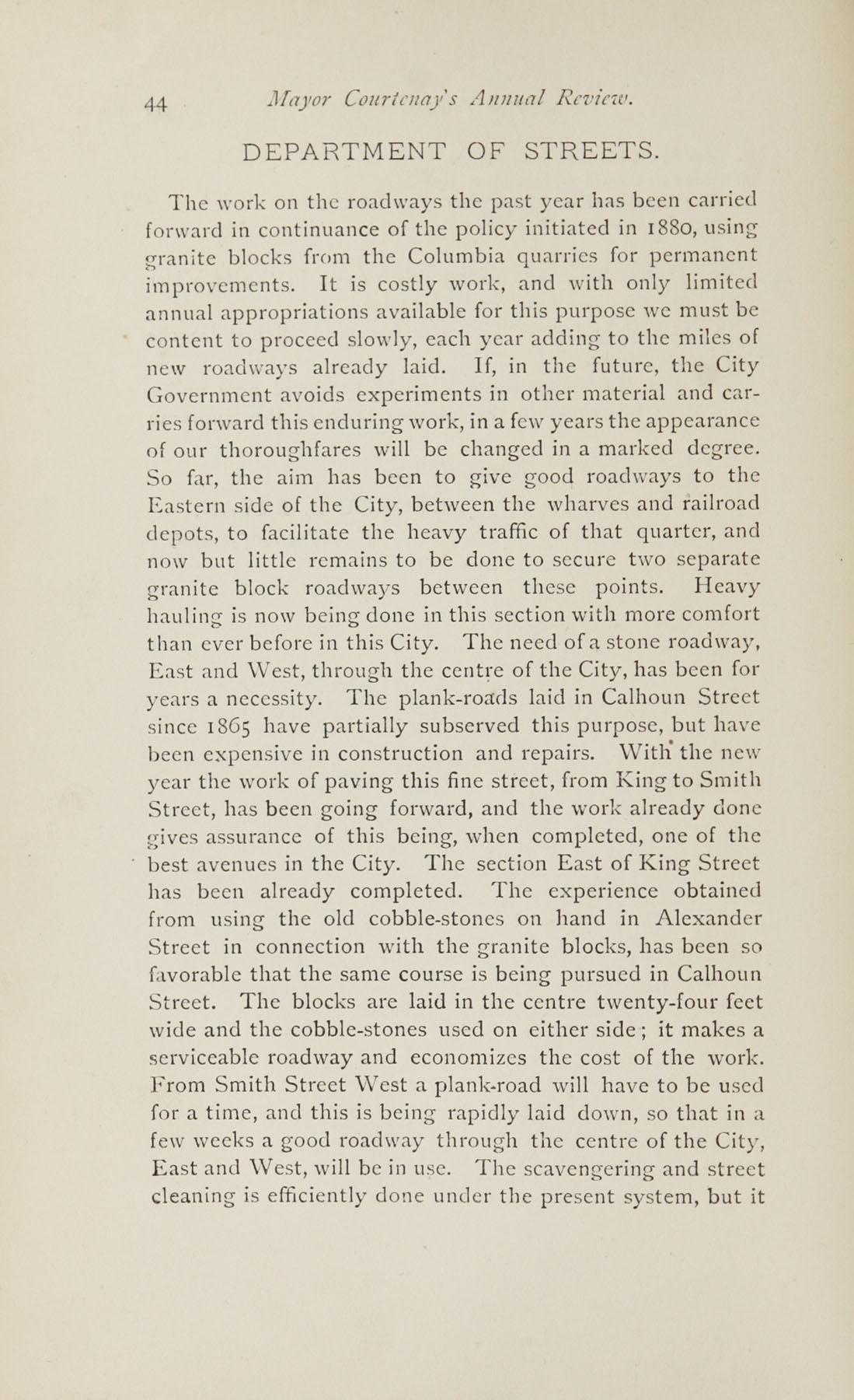 Charleston Yearbook, 1882, page 44