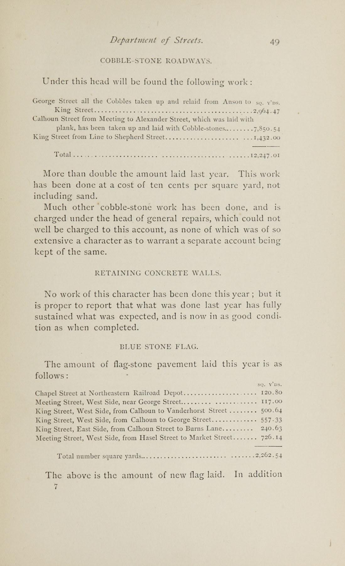 Charleston Yearbook, 1882, page 49