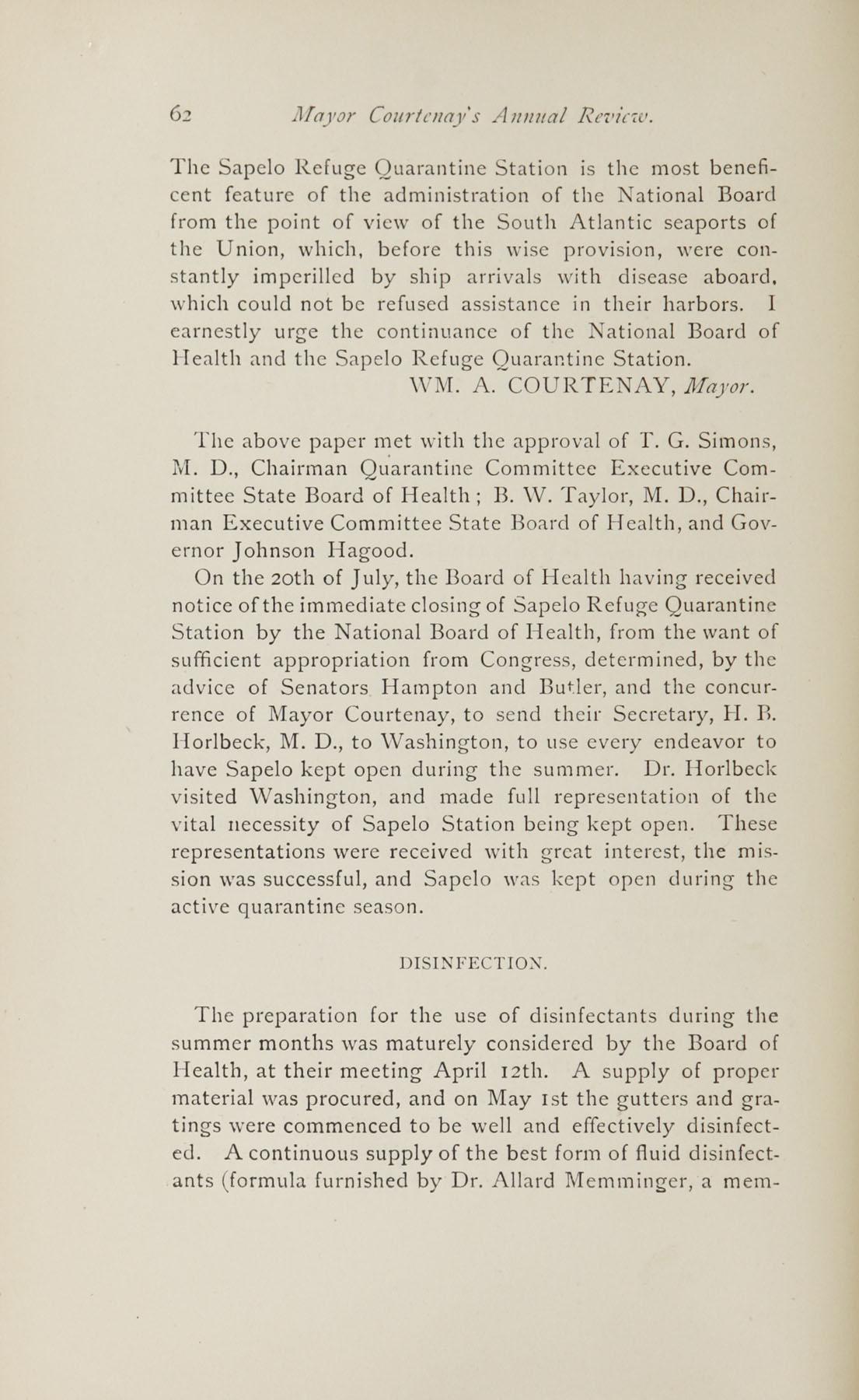 Charleston Yearbook, 1882, page 62