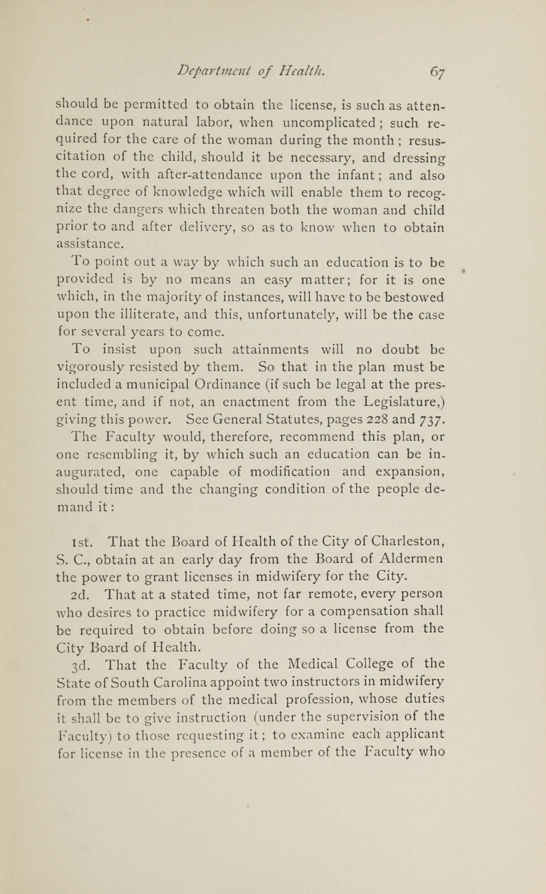 Charleston Yearbook, 1882, page 67