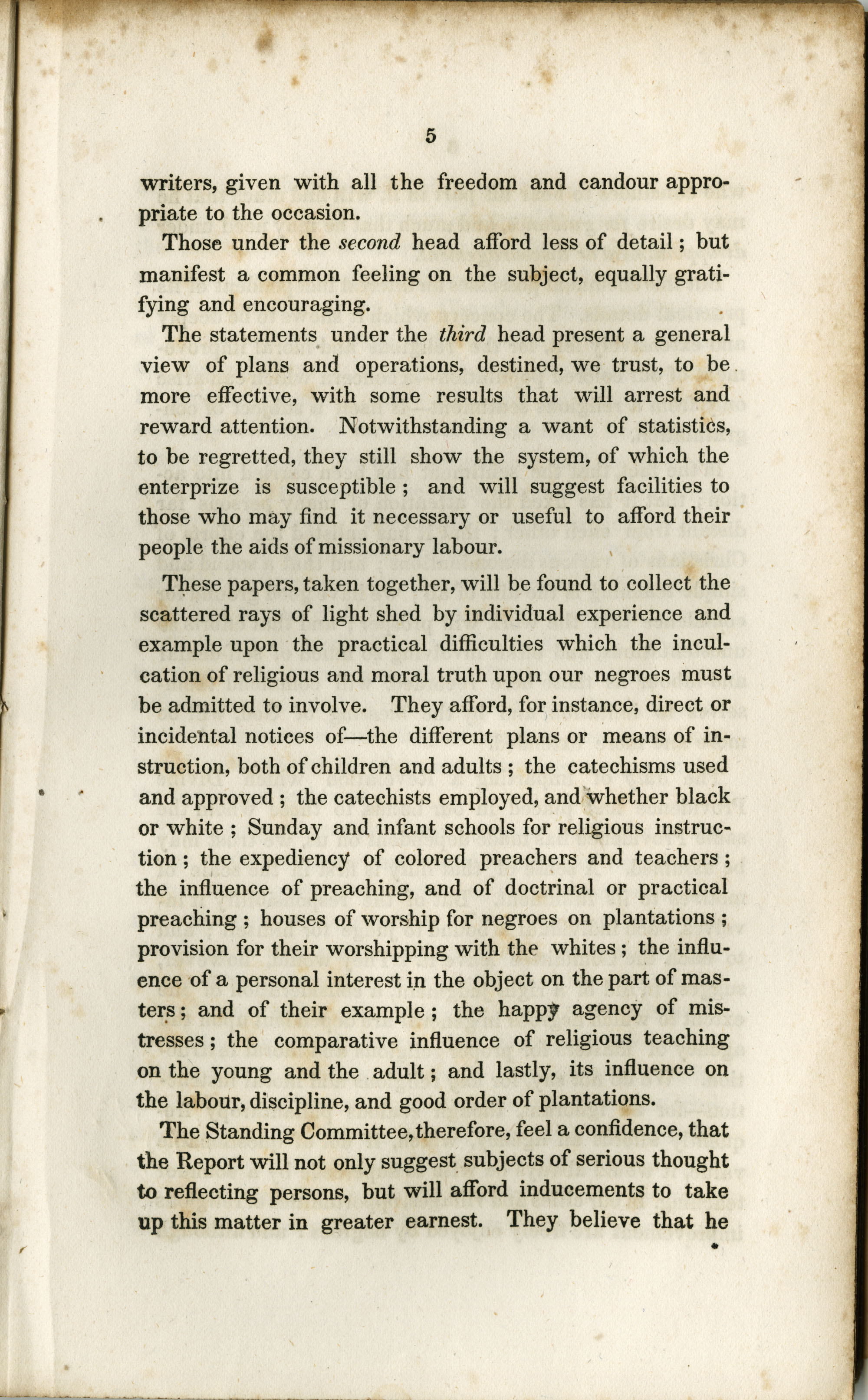 Address to the Holders of Slaves in South-Carolina, Page  5