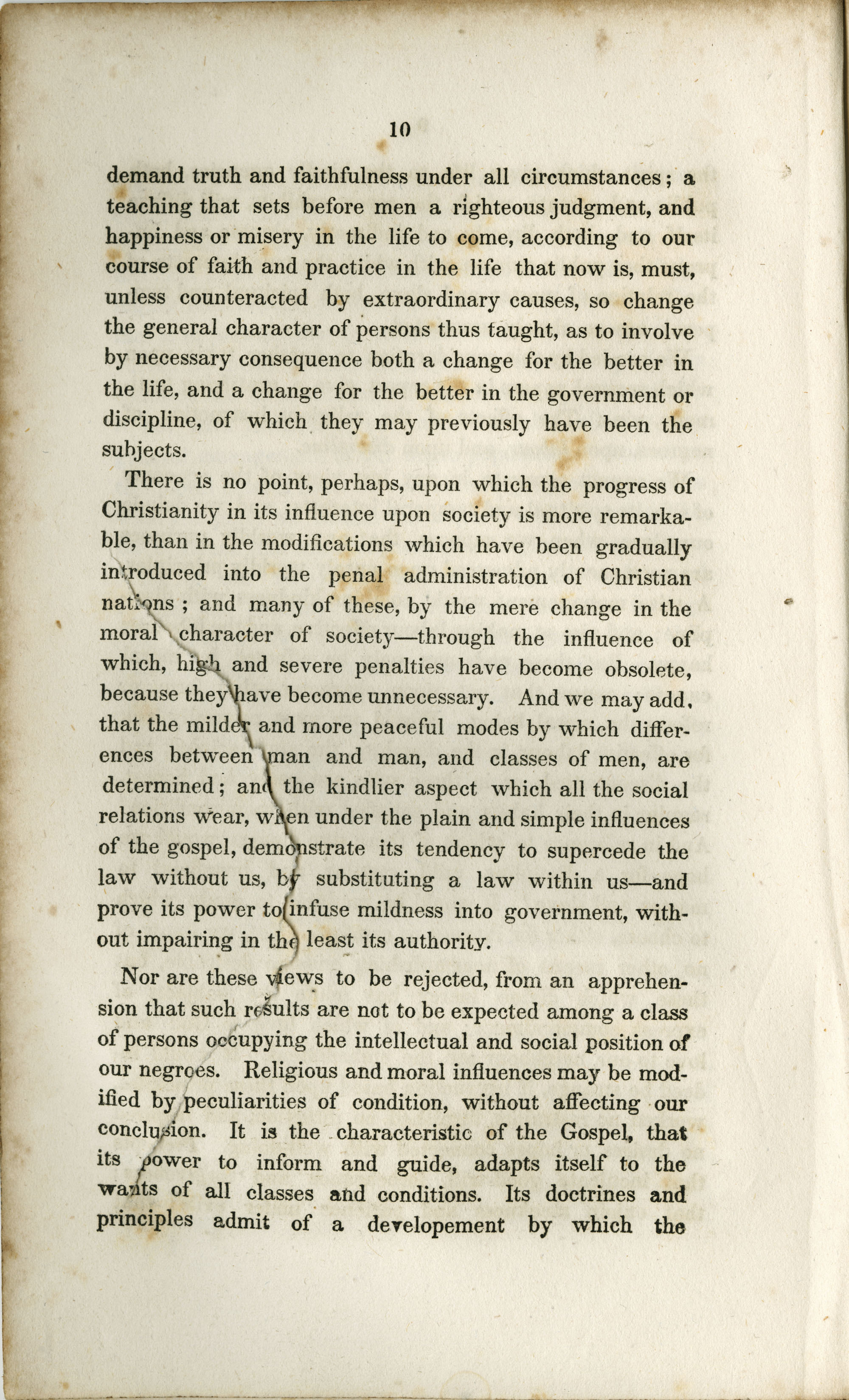 Address to the Holders of Slaves in South-Carolina, Page  10