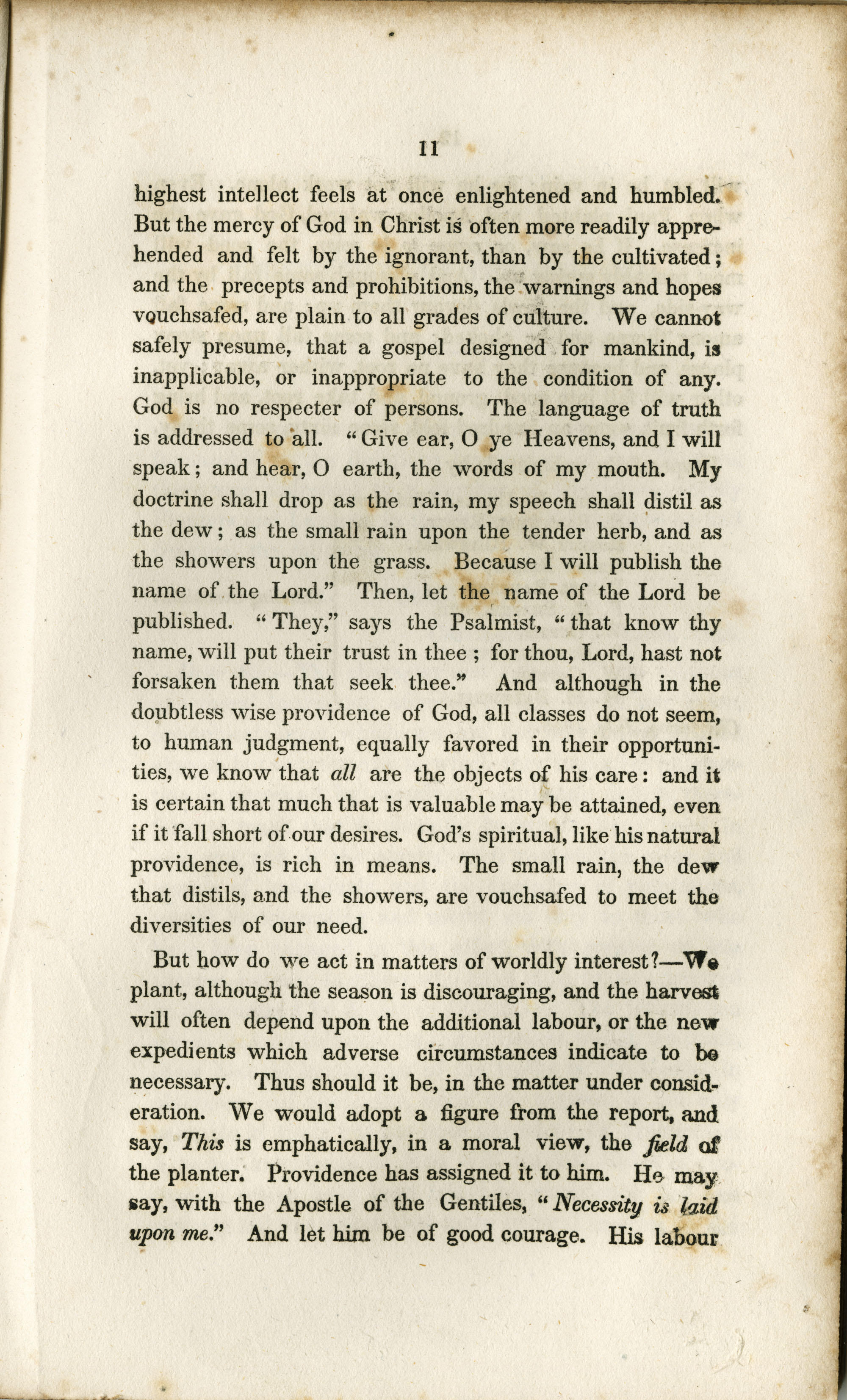 Address to the Holders of Slaves in South-Carolina, Page  11
