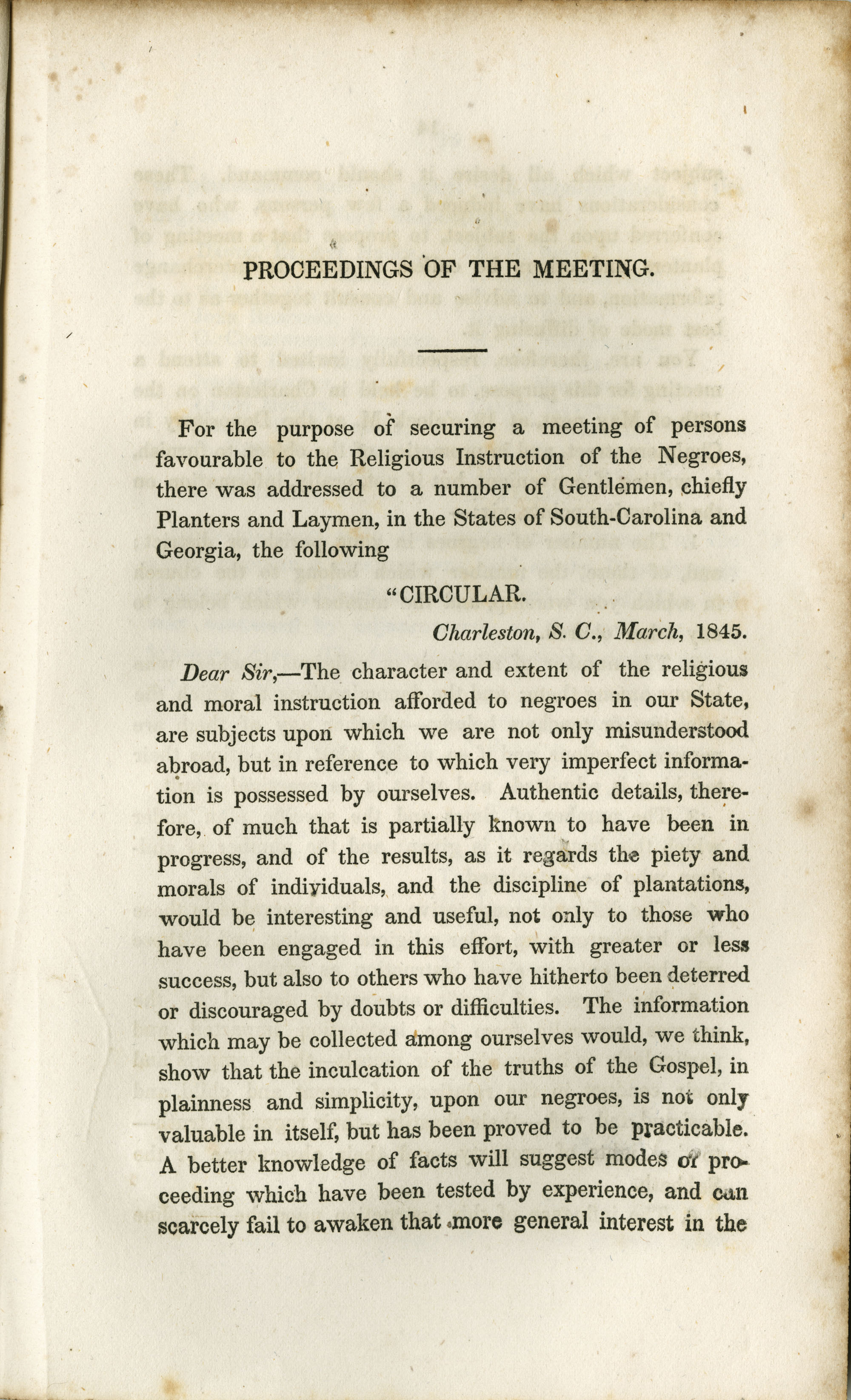 Proceedings of the Meeting, Page 13