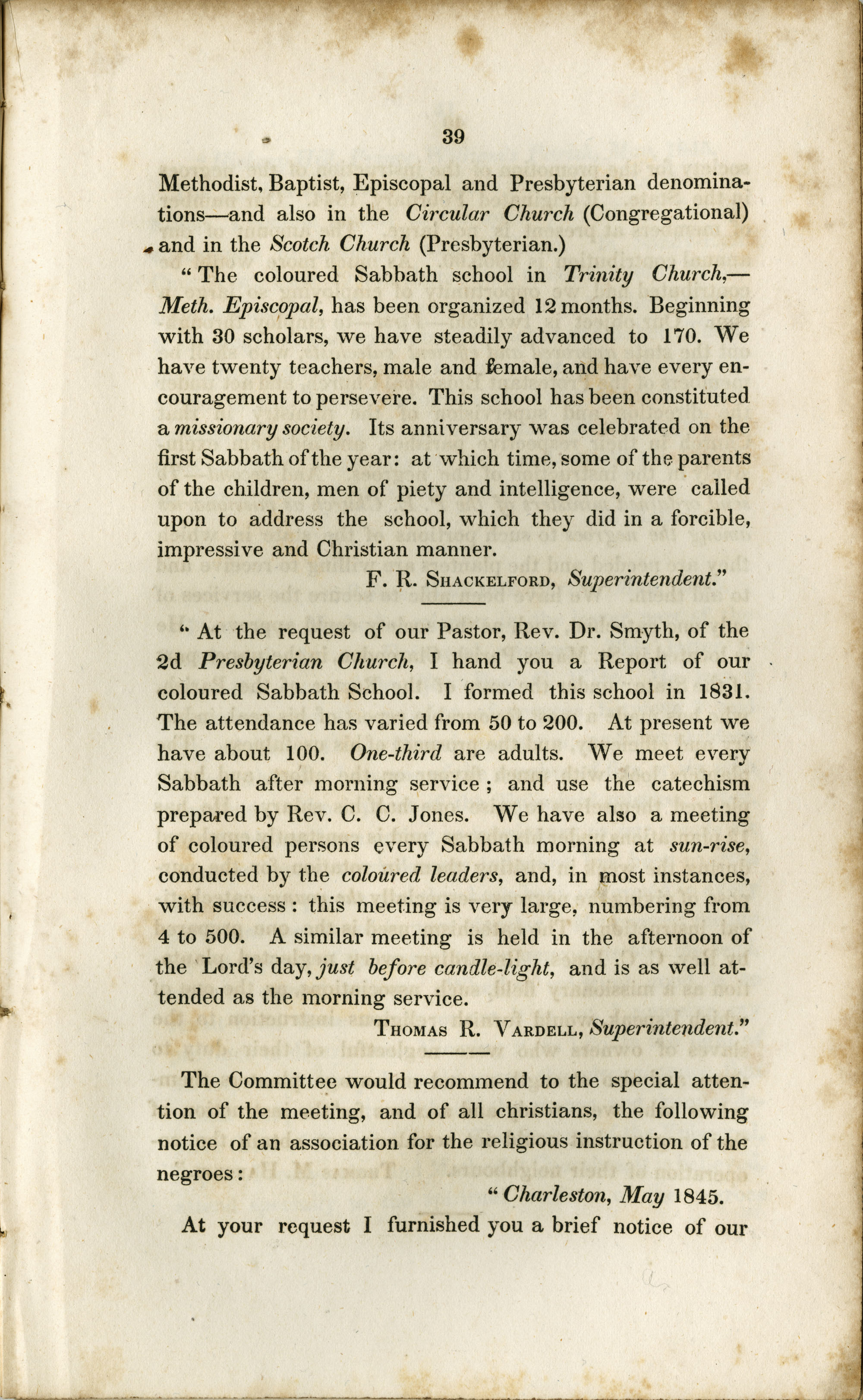 Report of the Committee, Page 39