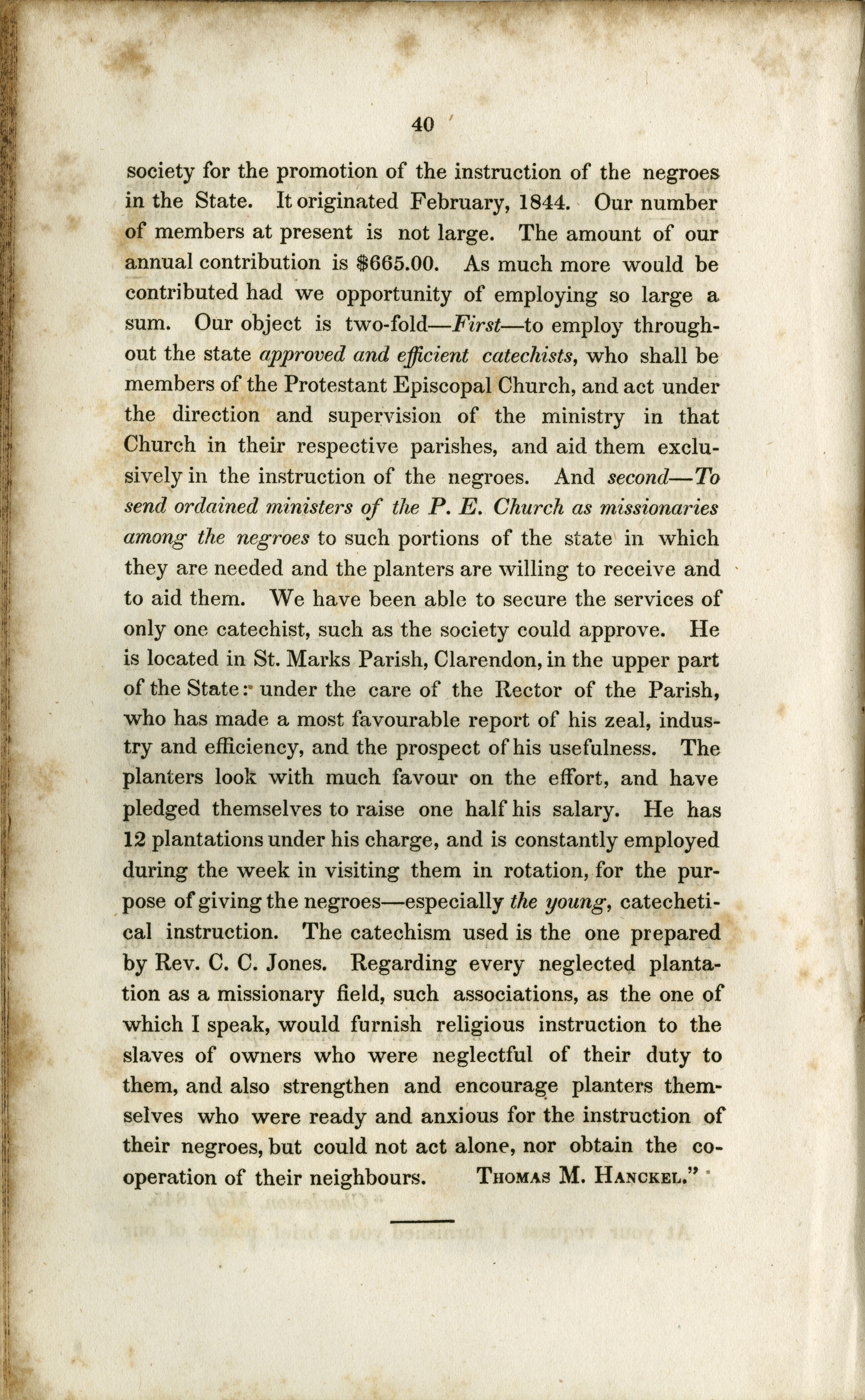 Report of the Committee, Page 40