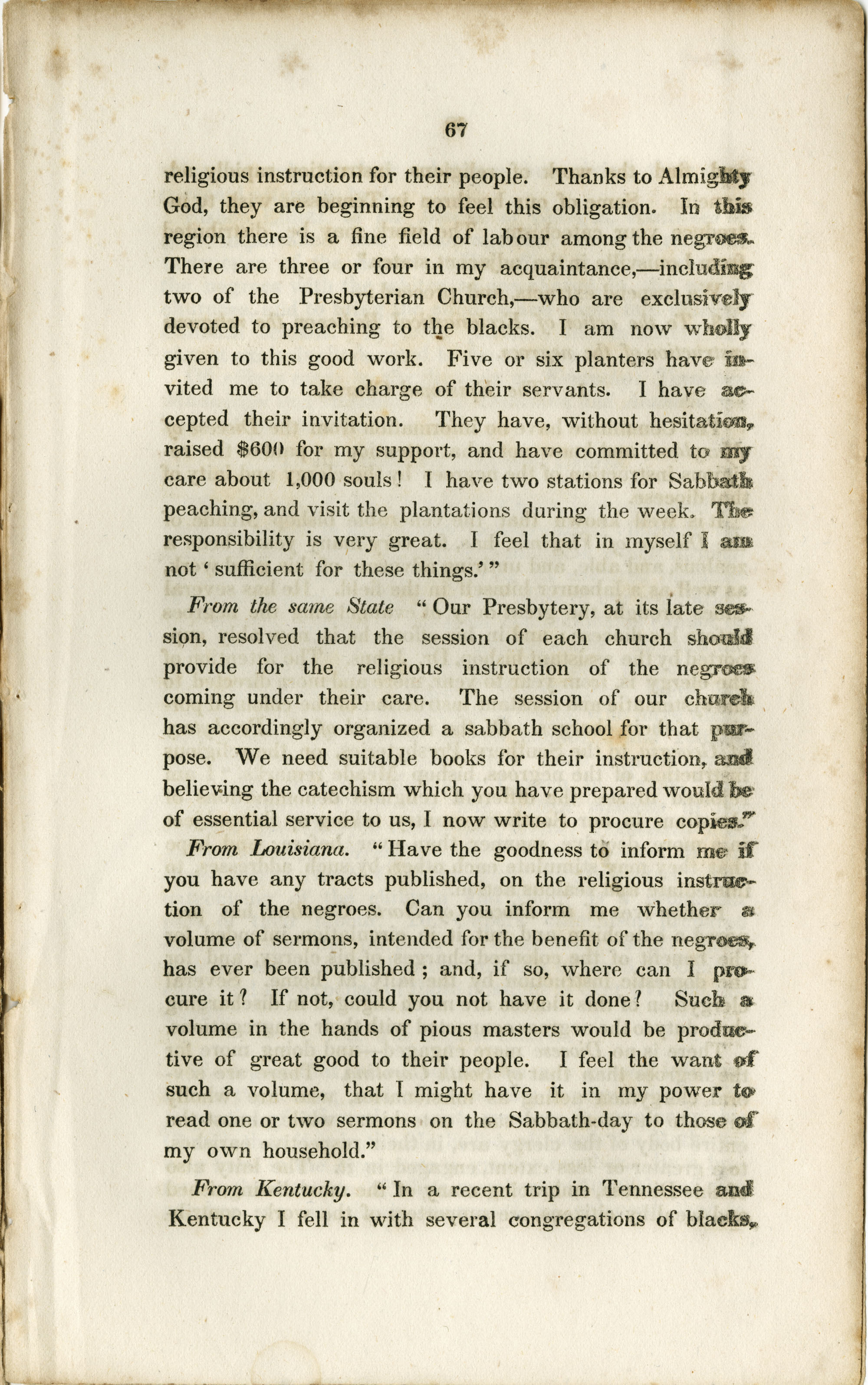 Report of the Committee, Page 67