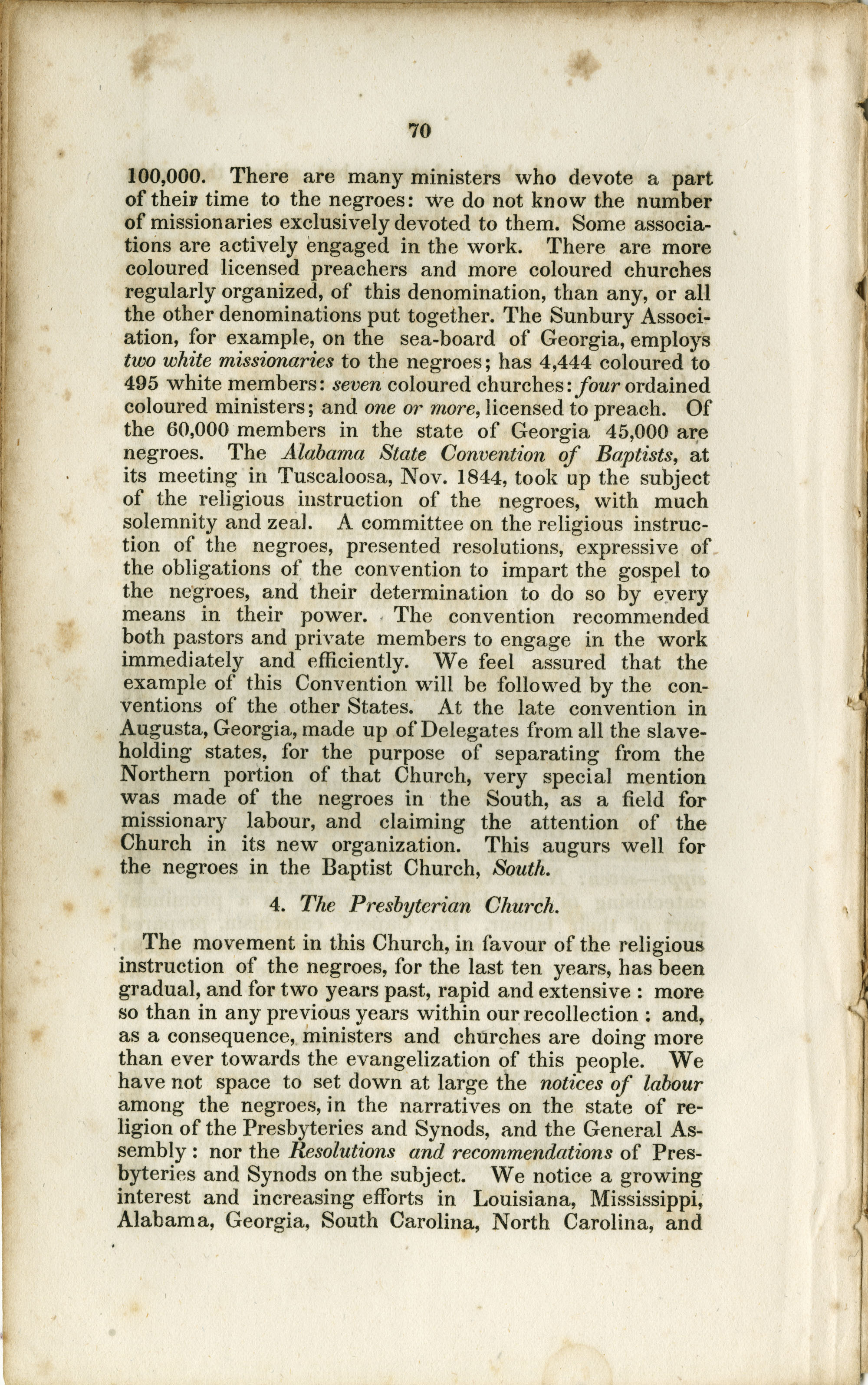 Report of the Committee, Page 70