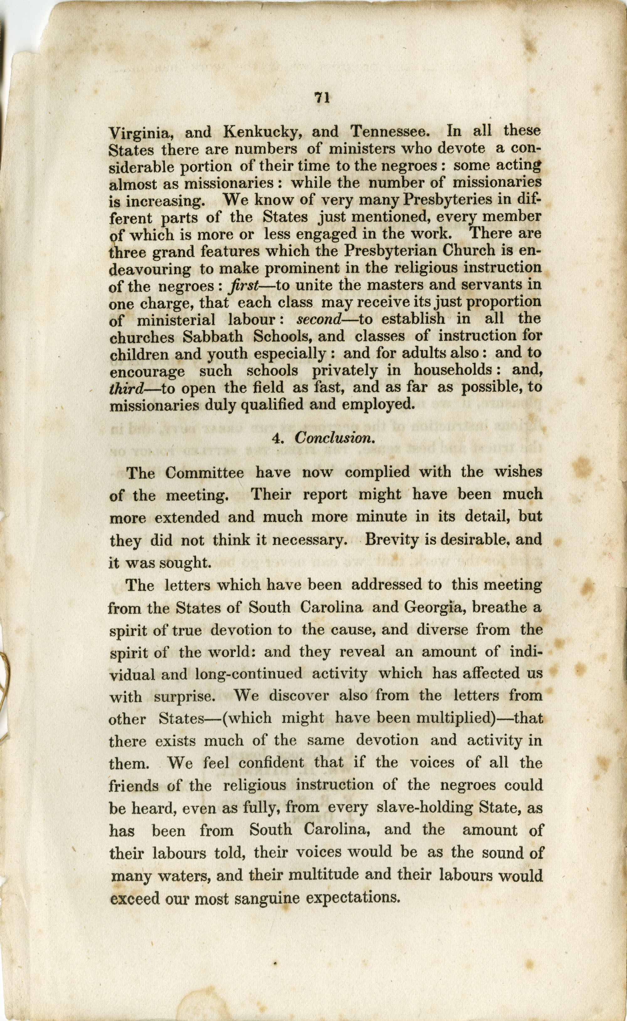 Report of the Committee, Page 71