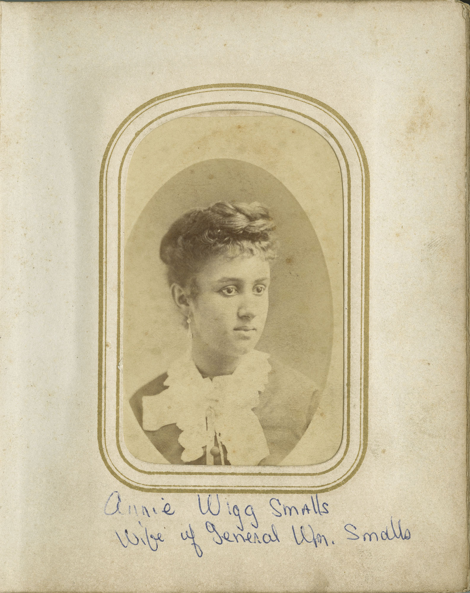 13. Photograph of Annie Wigg Smalls