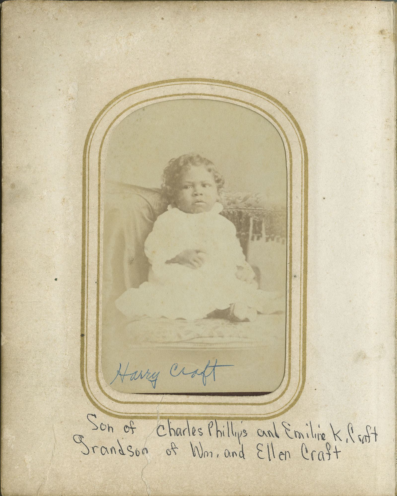 14. Photograph of Harry Craft as an Infant