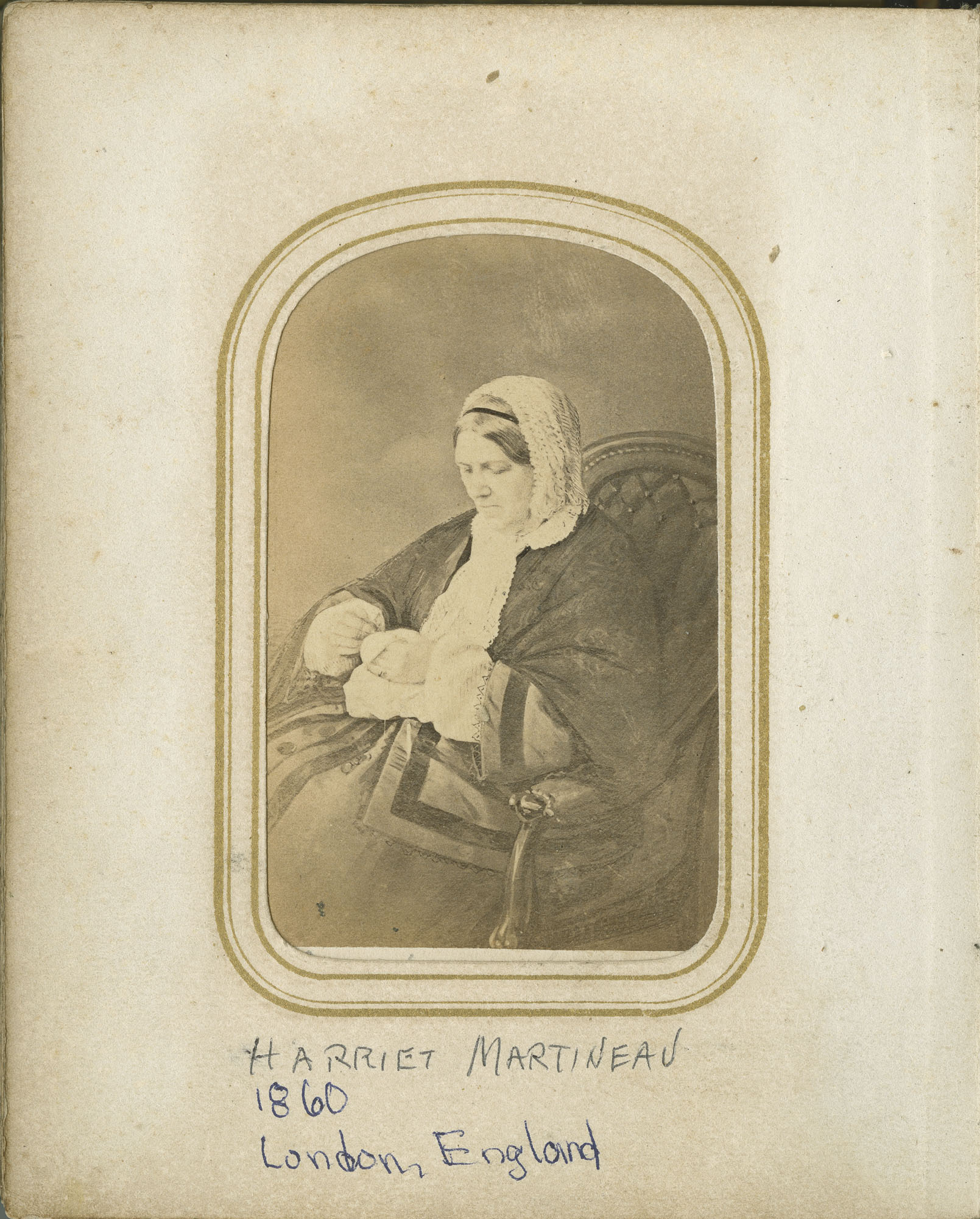 35. Image of Harriet Martineau