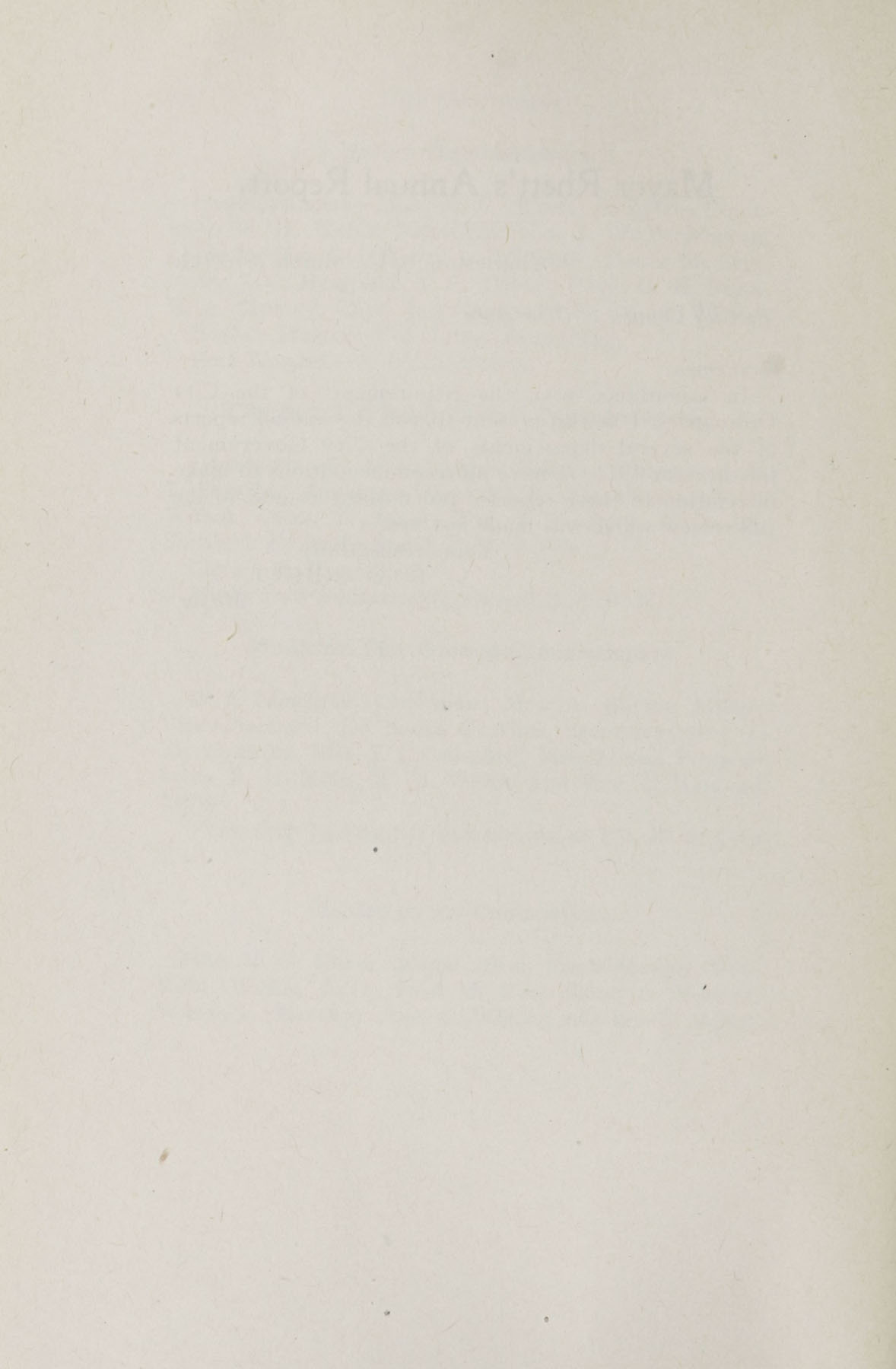 Charleston Yearbook, 1911, blank page