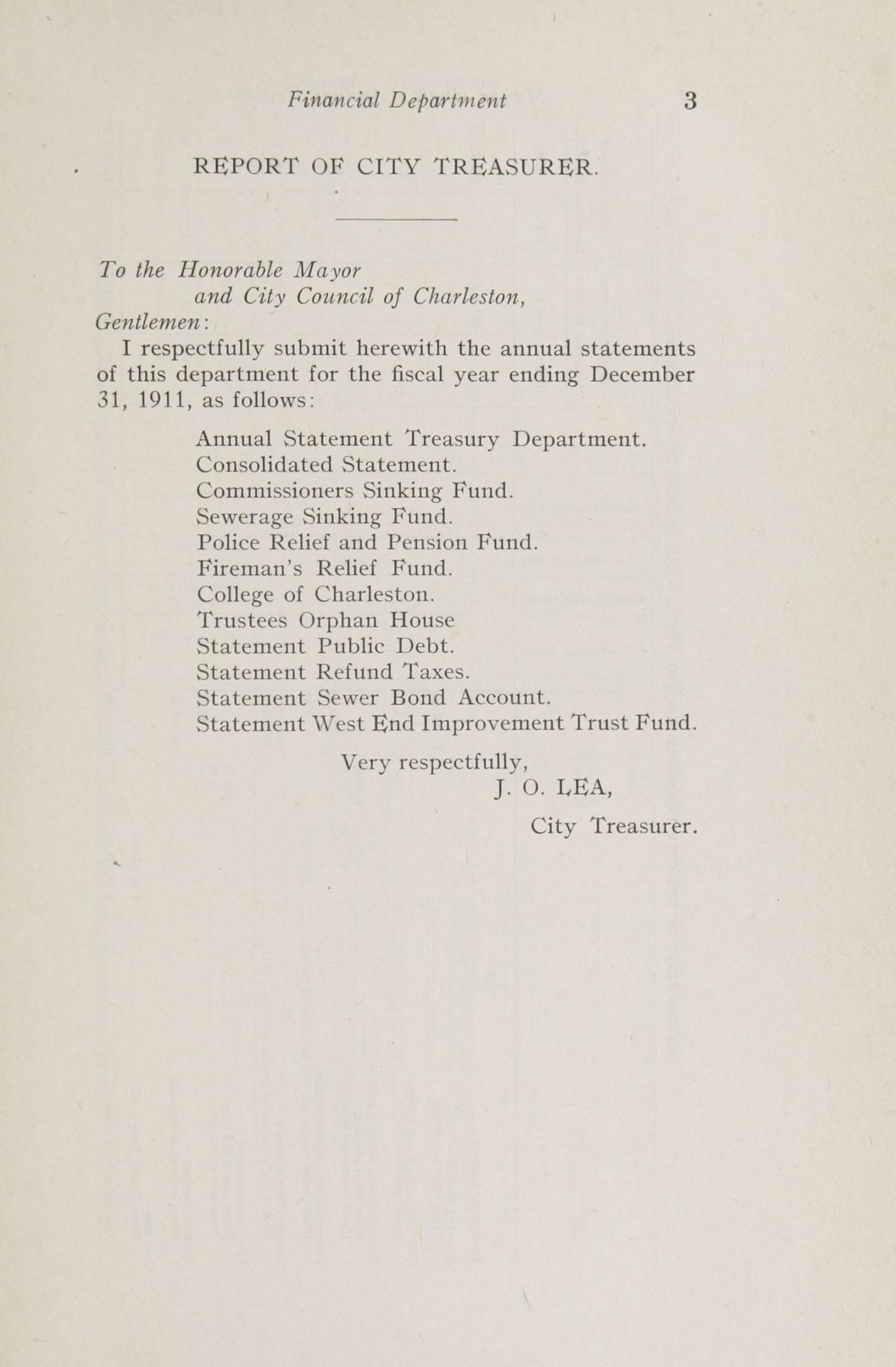 Charleston Yearbook, 1911, page 3
