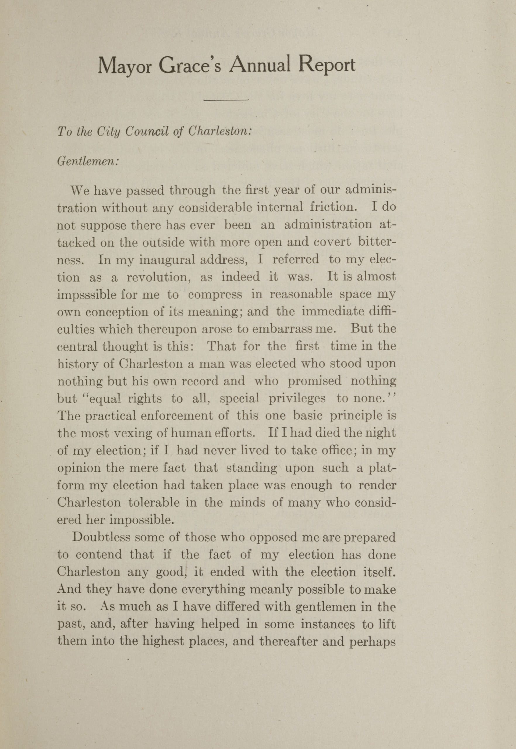 Charleston Yearbook, 1912, page xiii