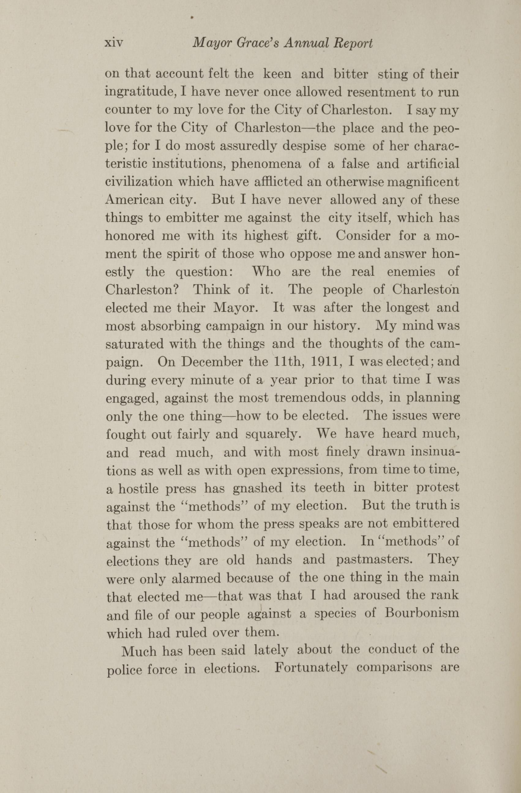 Charleston Yearbook, 1912, page xiv