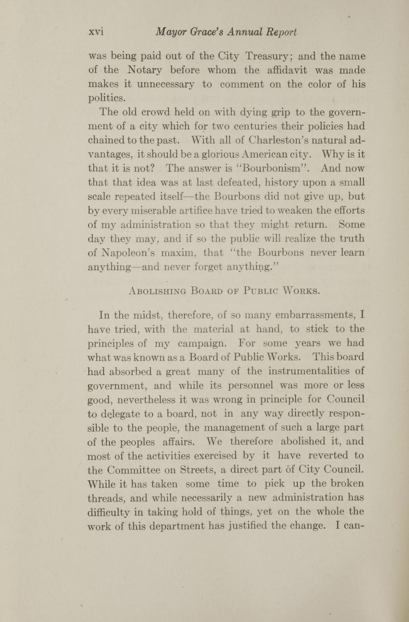 Charleston Yearbook, 1912, page xvi