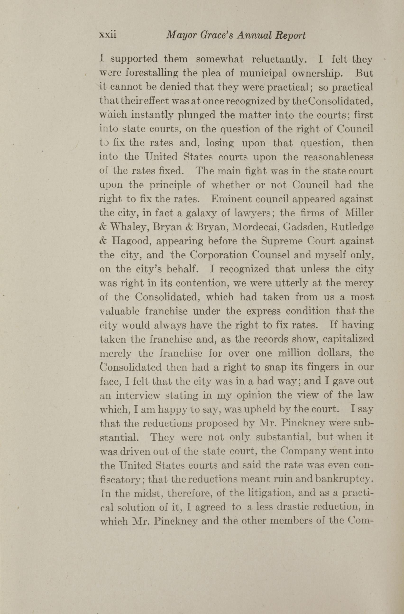 Charleston Yearbook, 1912, page xxii
