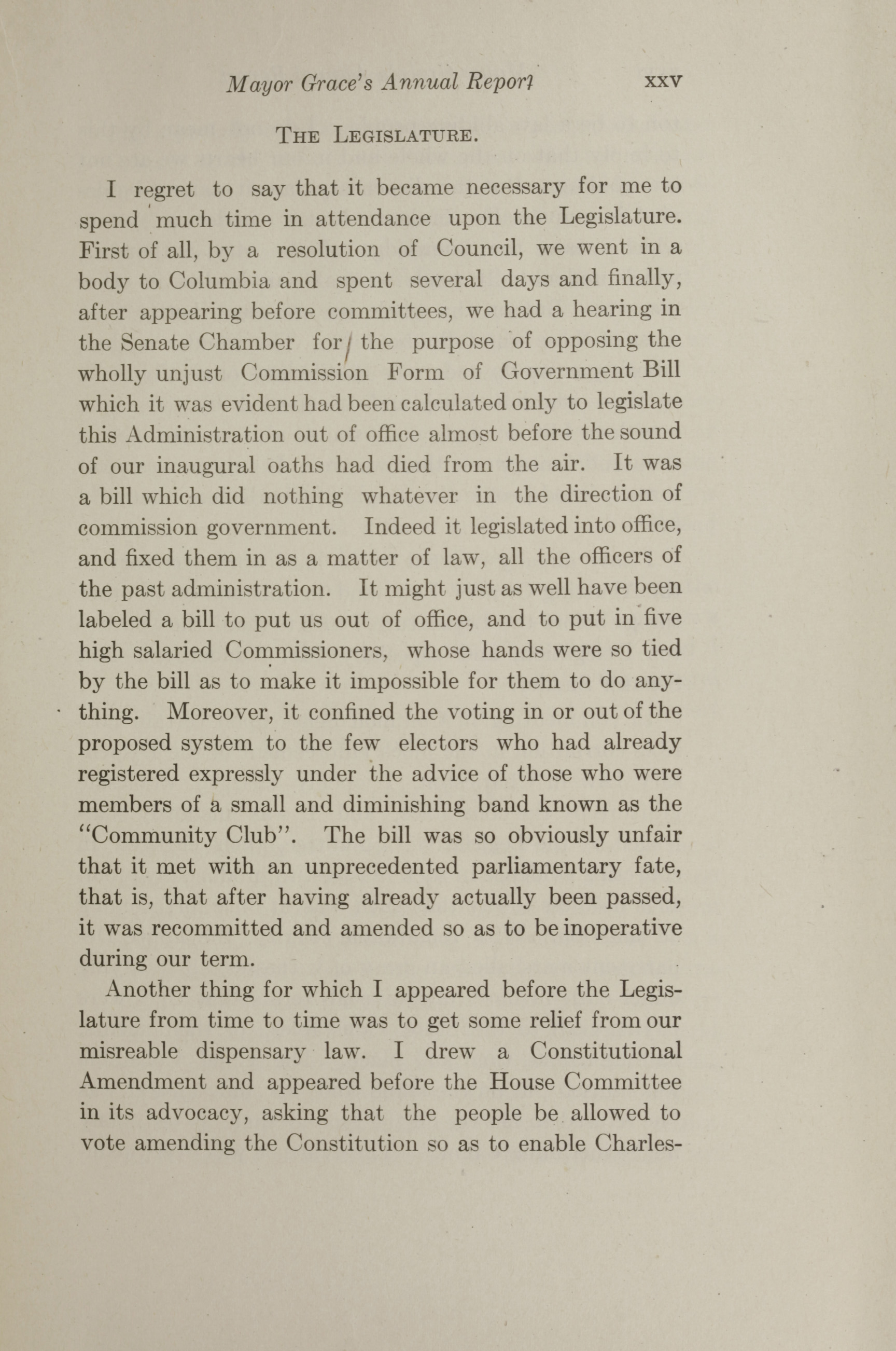 Charleston Yearbook, 1912, page xxv