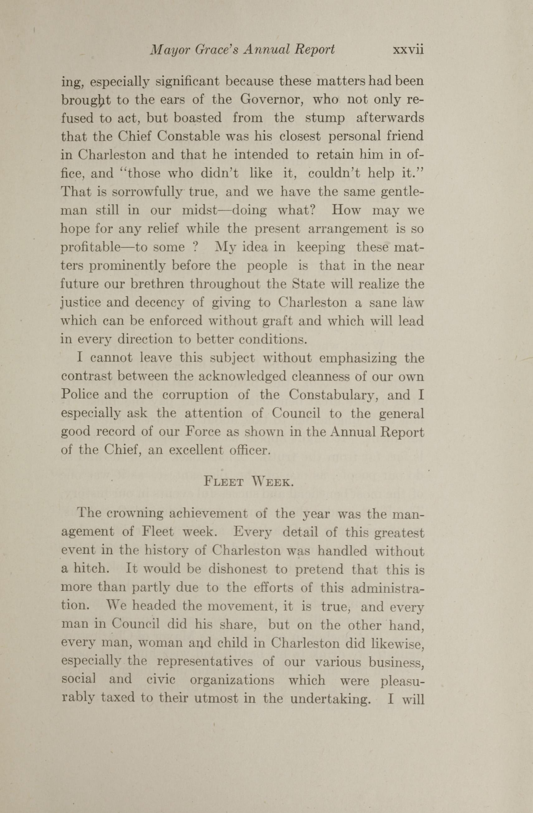 Charleston Yearbook, 1912, page xxvii