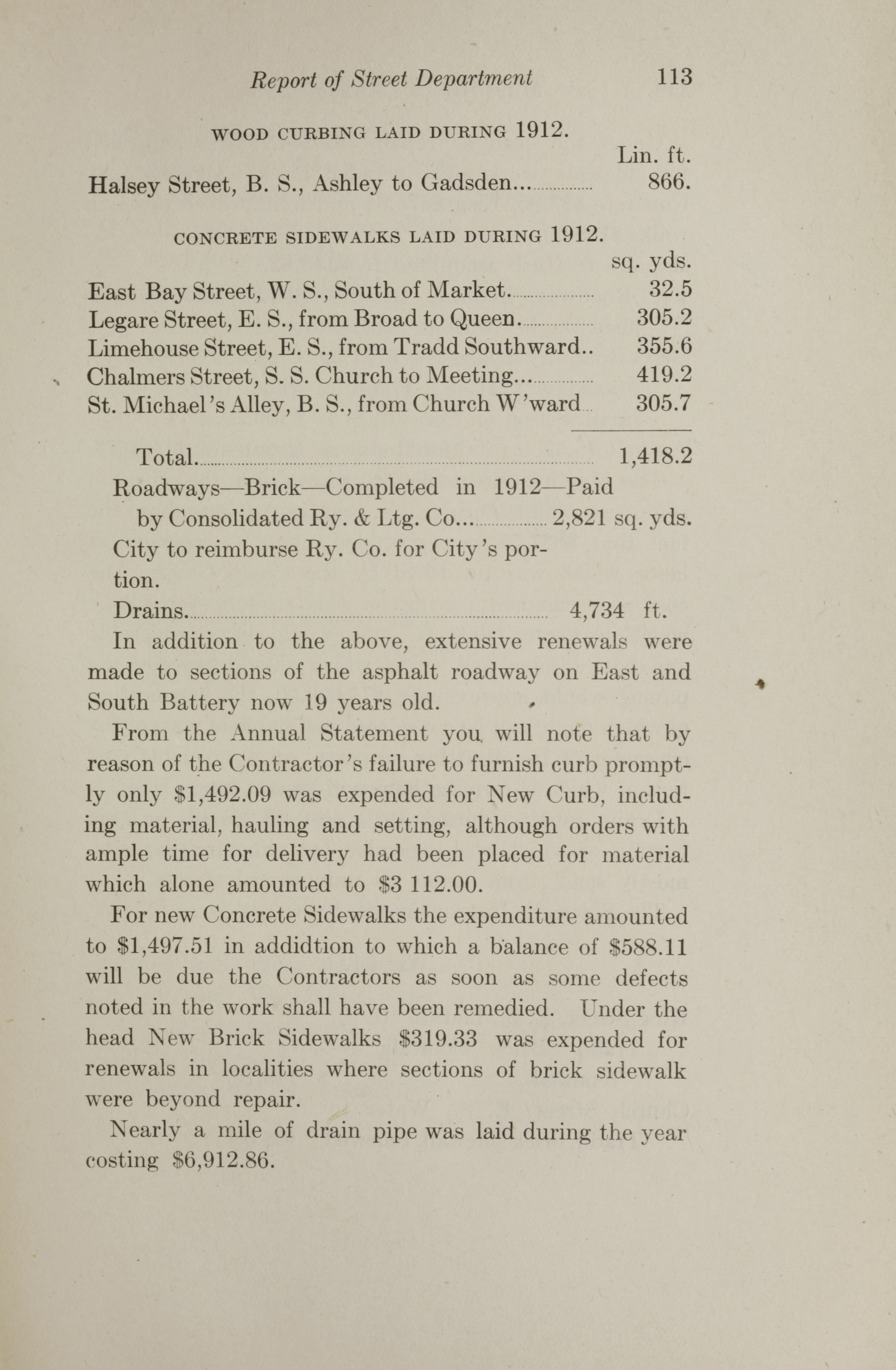 Charleston Yearbook, 1912, page 113