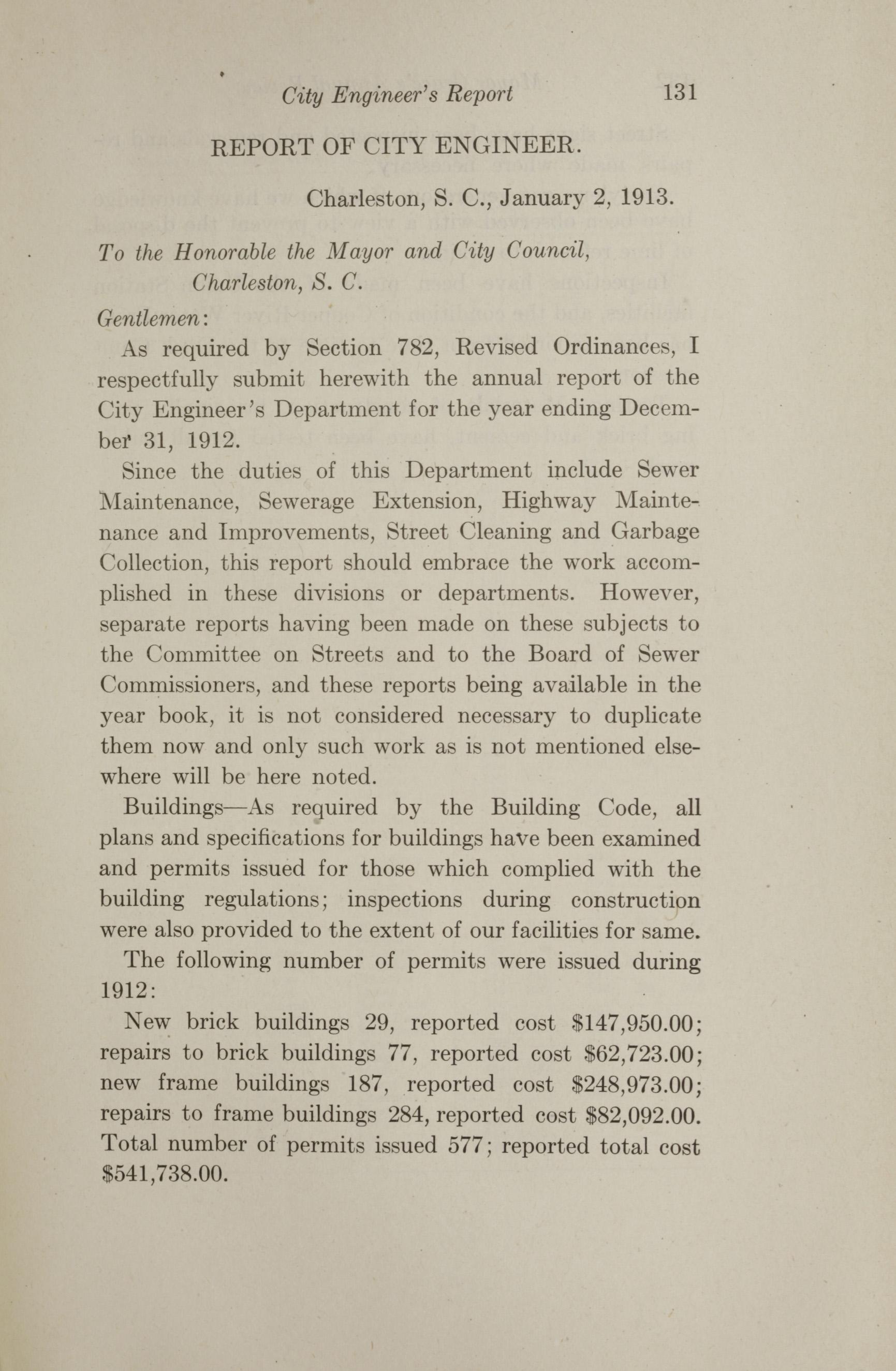 Charleston Yearbook, 1912, page 131