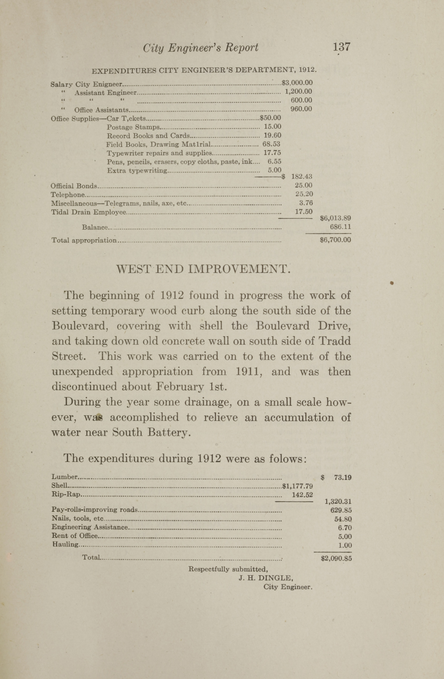 Charleston Yearbook, 1912, page 137