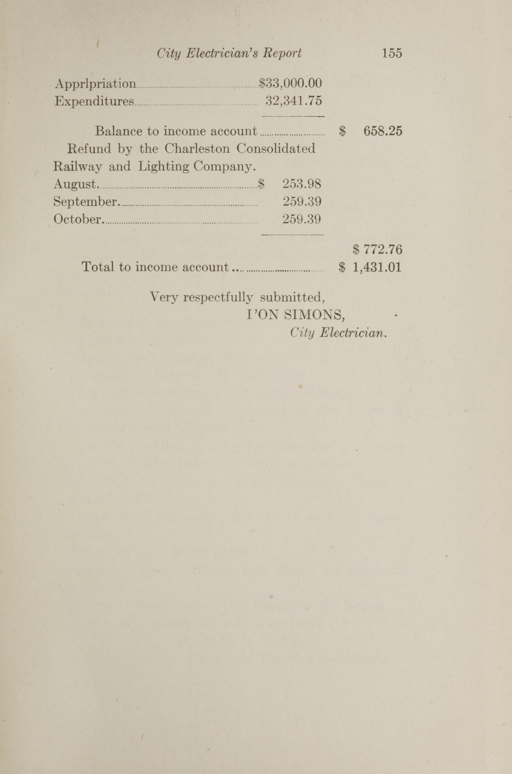 Charleston Yearbook, 1912, page 155