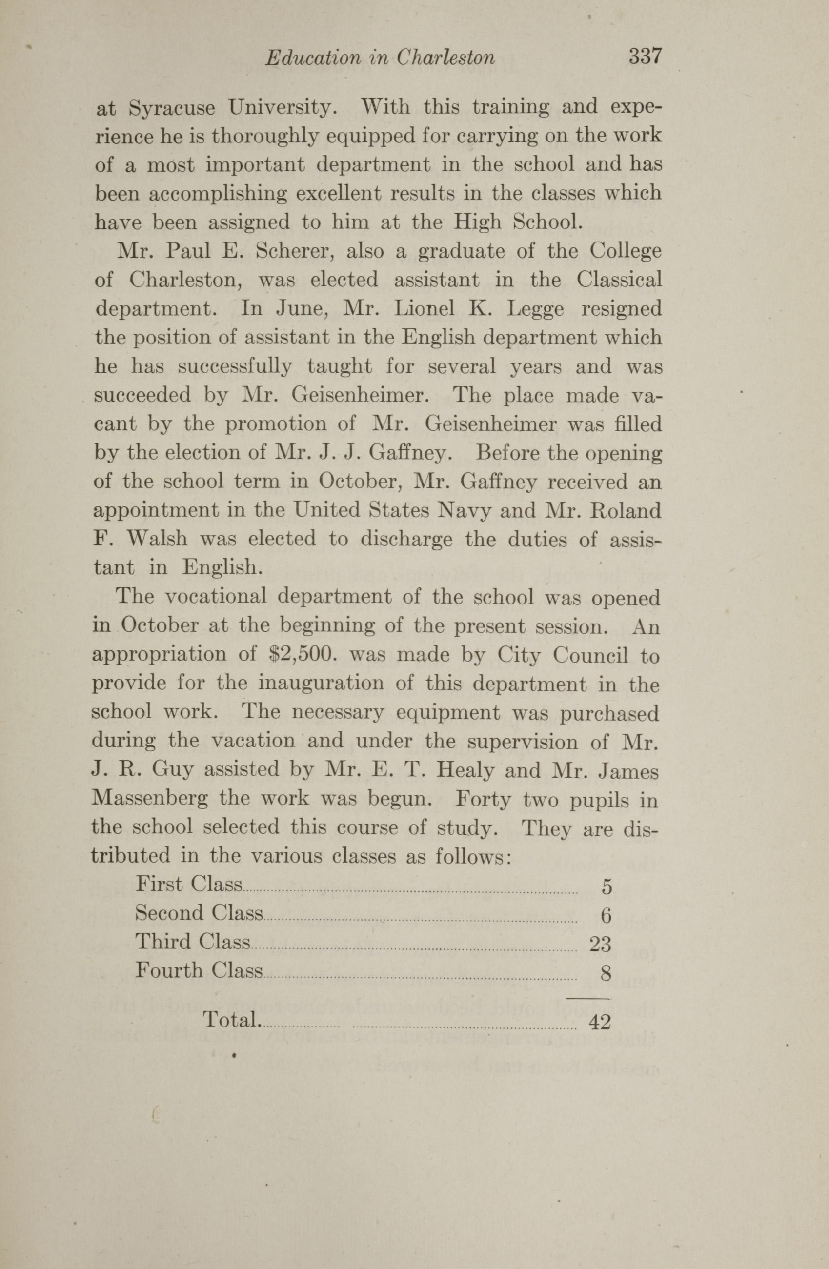 Charleston Yearbook, 1912, page 337
