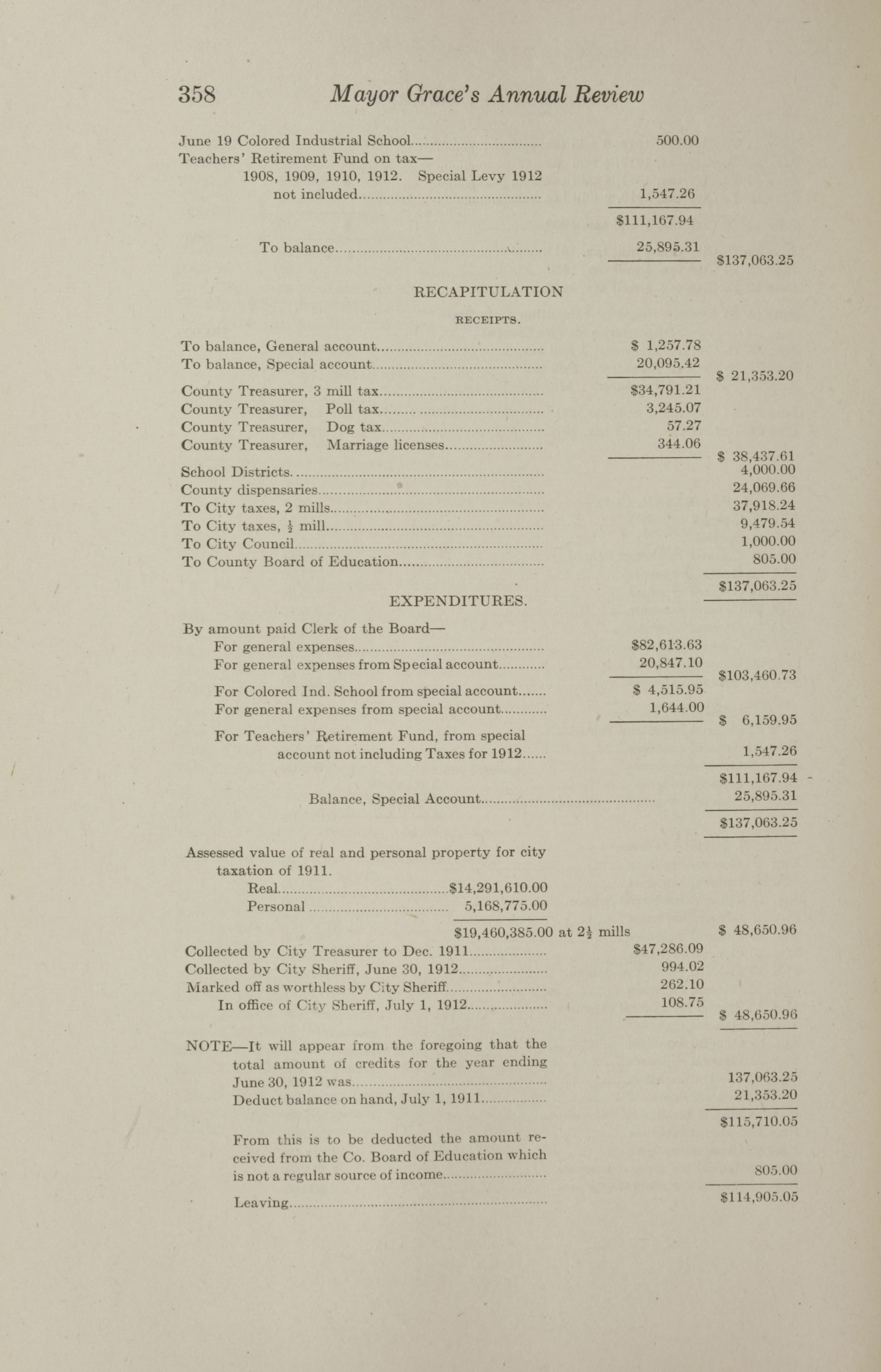 Charleston Yearbook, 1912, page 358