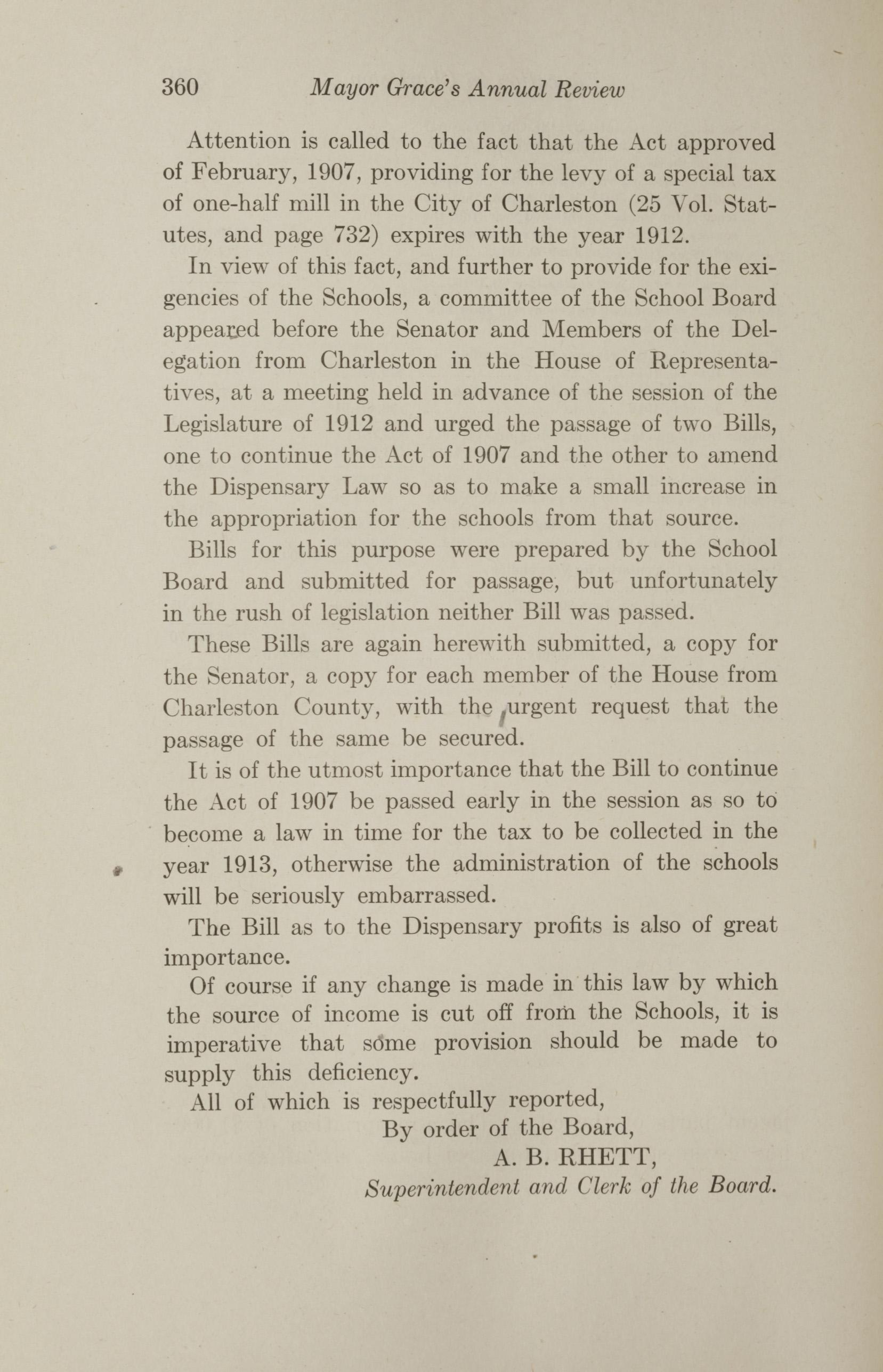 Charleston Yearbook, 1912, page 360