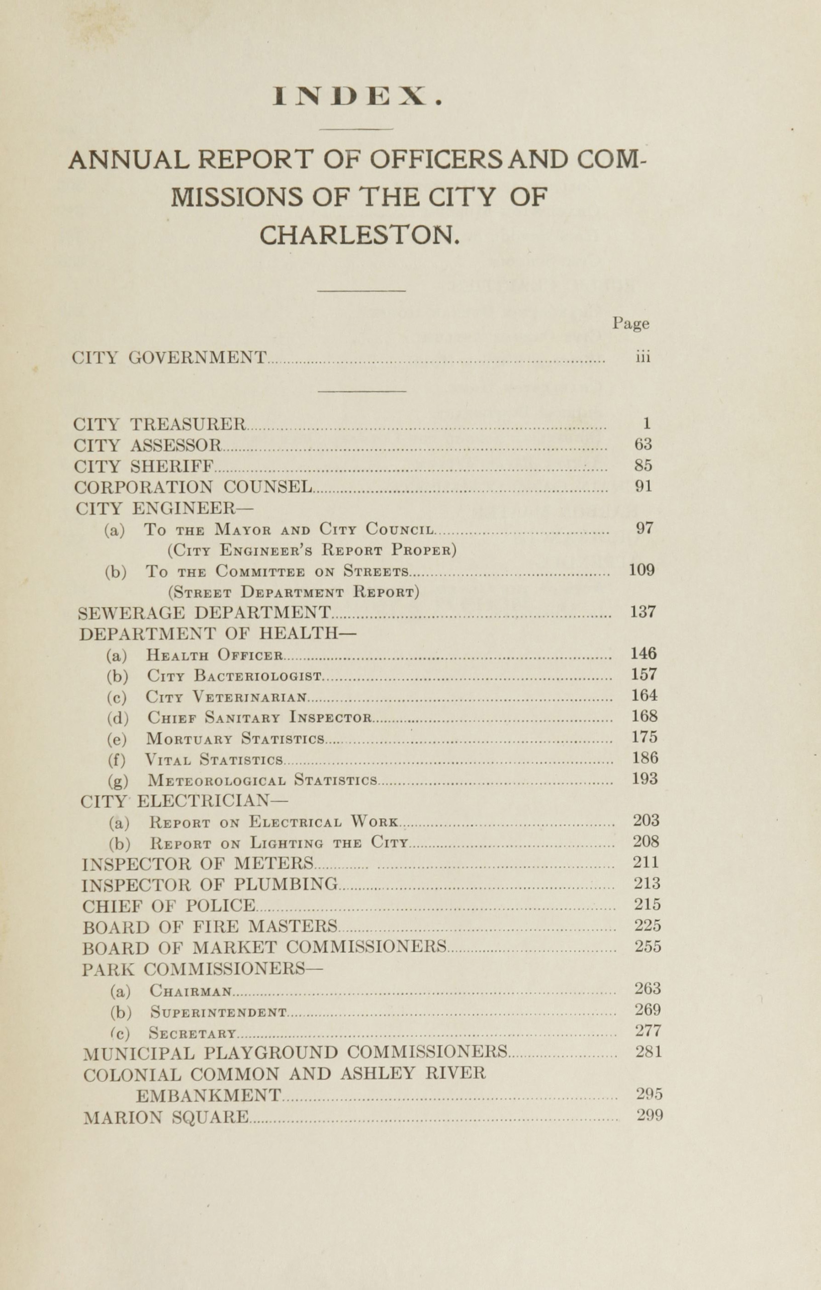 Charleston Yearbook, 1915, page xv