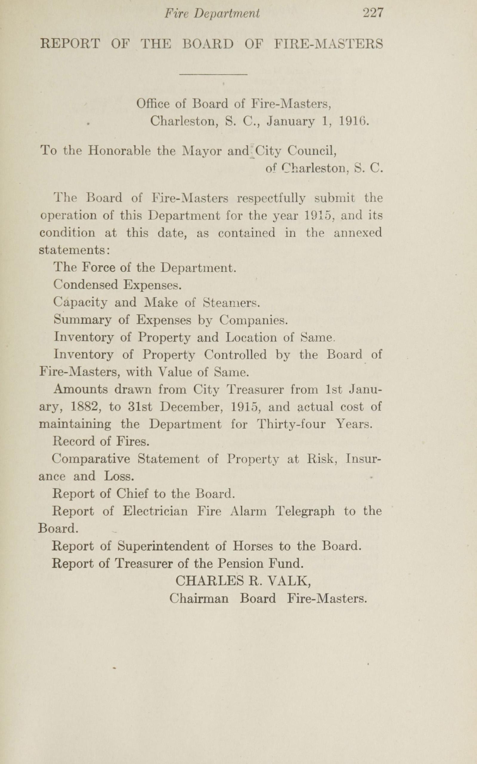 Charleston Yearbook, 1915, page 227