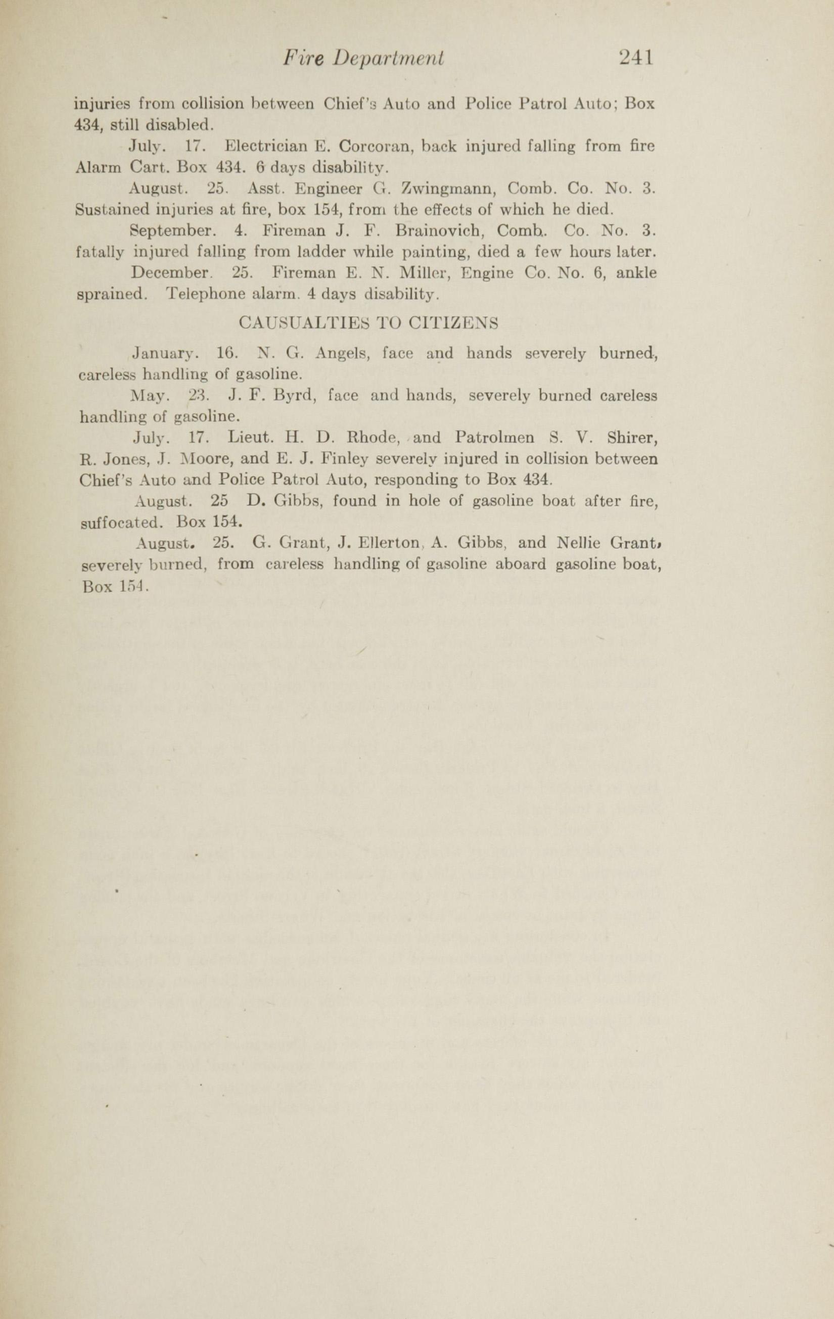 Charleston Yearbook, 1915, page 241