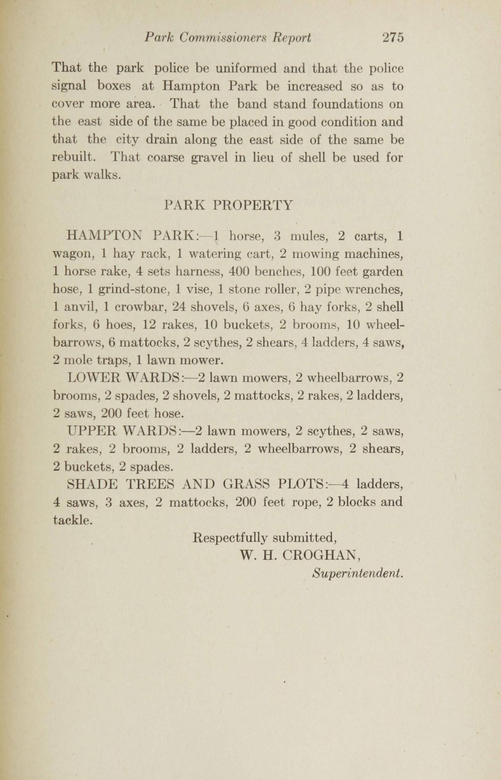 Charleston Yearbook, 1915, page 275