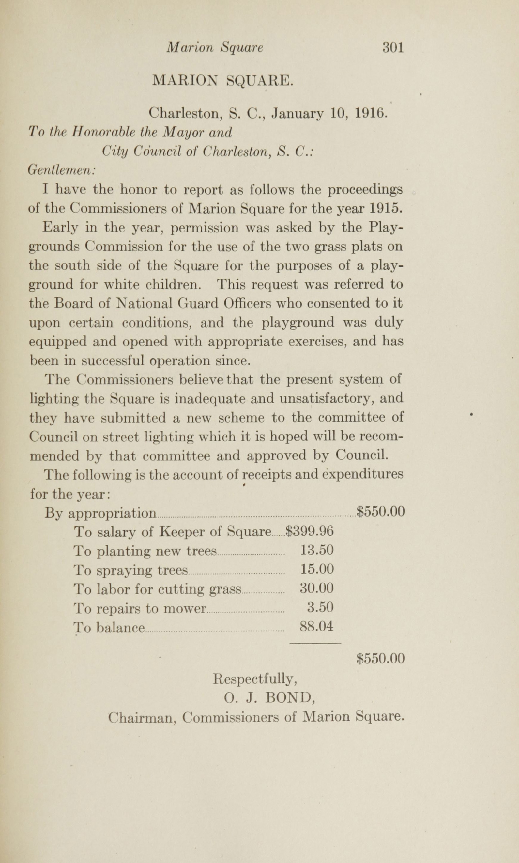 Charleston Yearbook, 1915, page 301