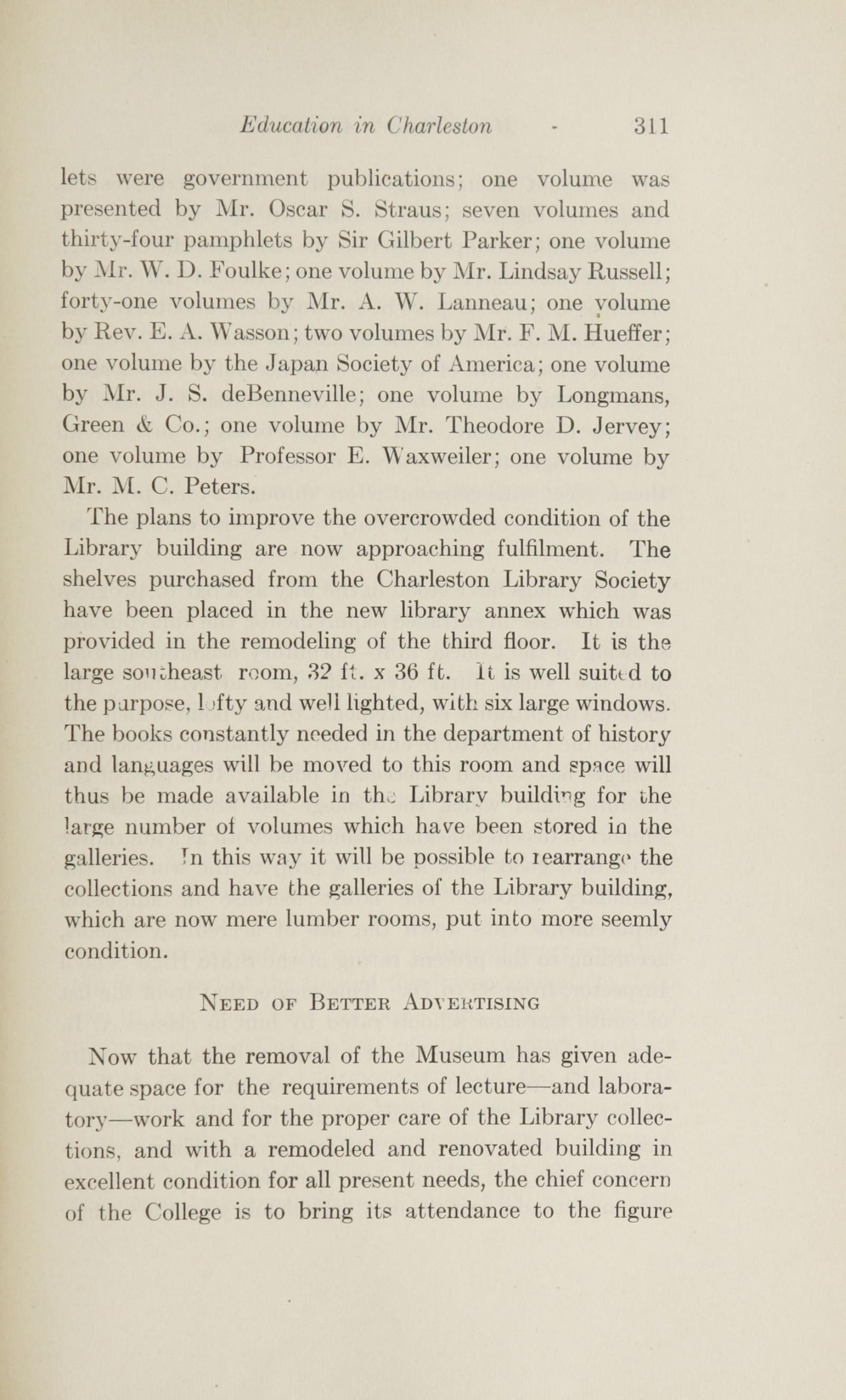 Charleston Yearbook, 1915, page 311
