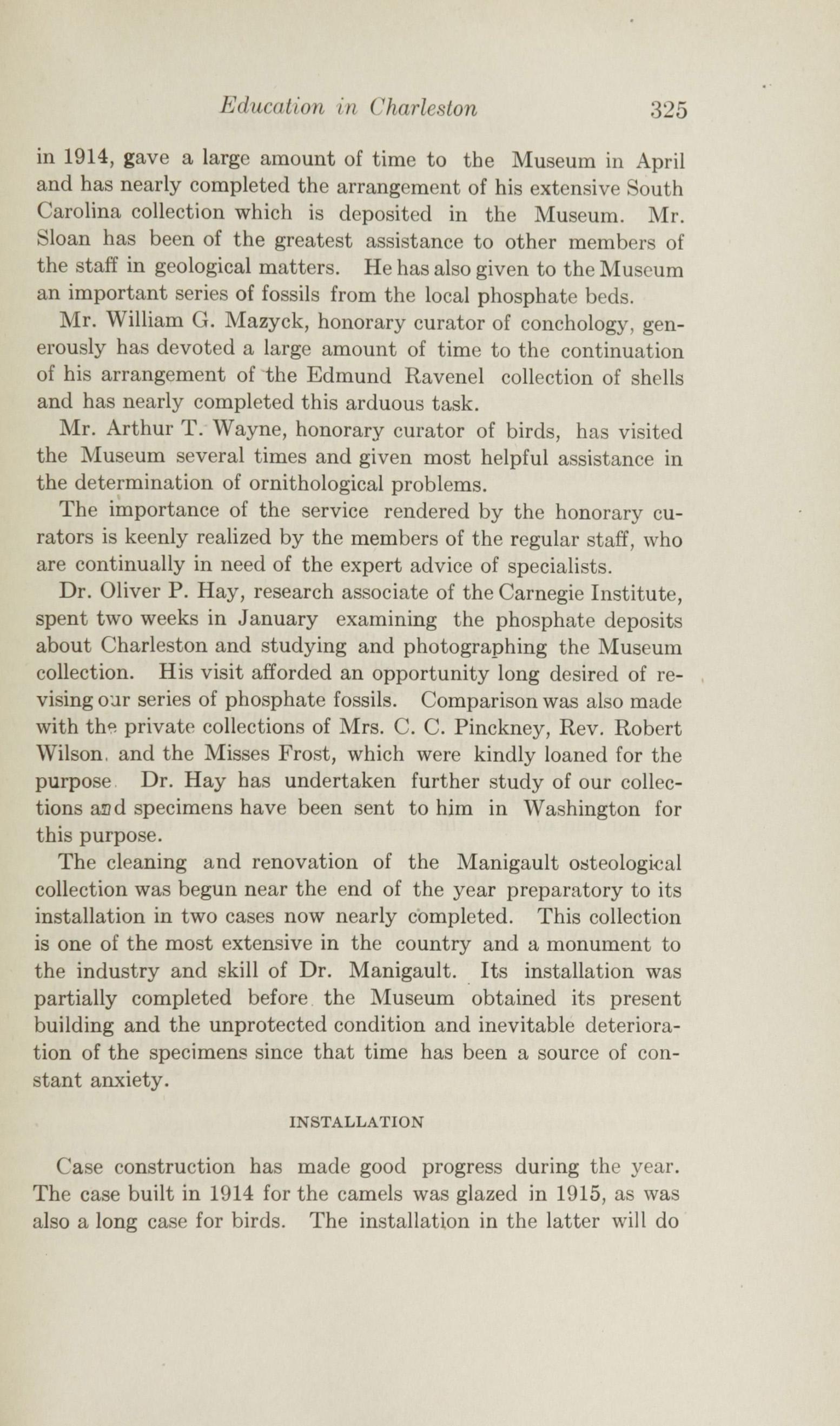 Charleston Yearbook, 1915, page 325