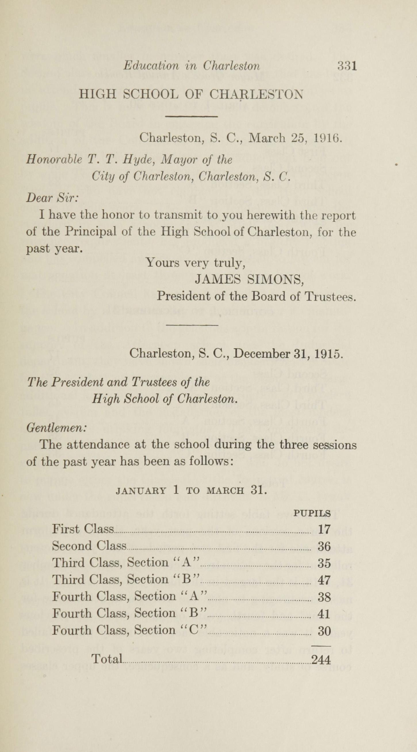 Charleston Yearbook, 1915, page 331